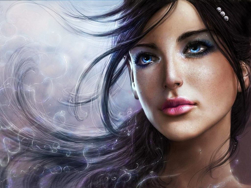 3d Girl Wallpapers Top Free 3d Girl Backgrounds