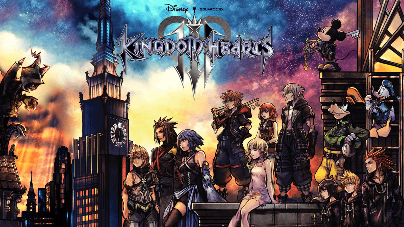 Kingdom Hearts Cover Wallpapers Top Free Kingdom Hearts Cover