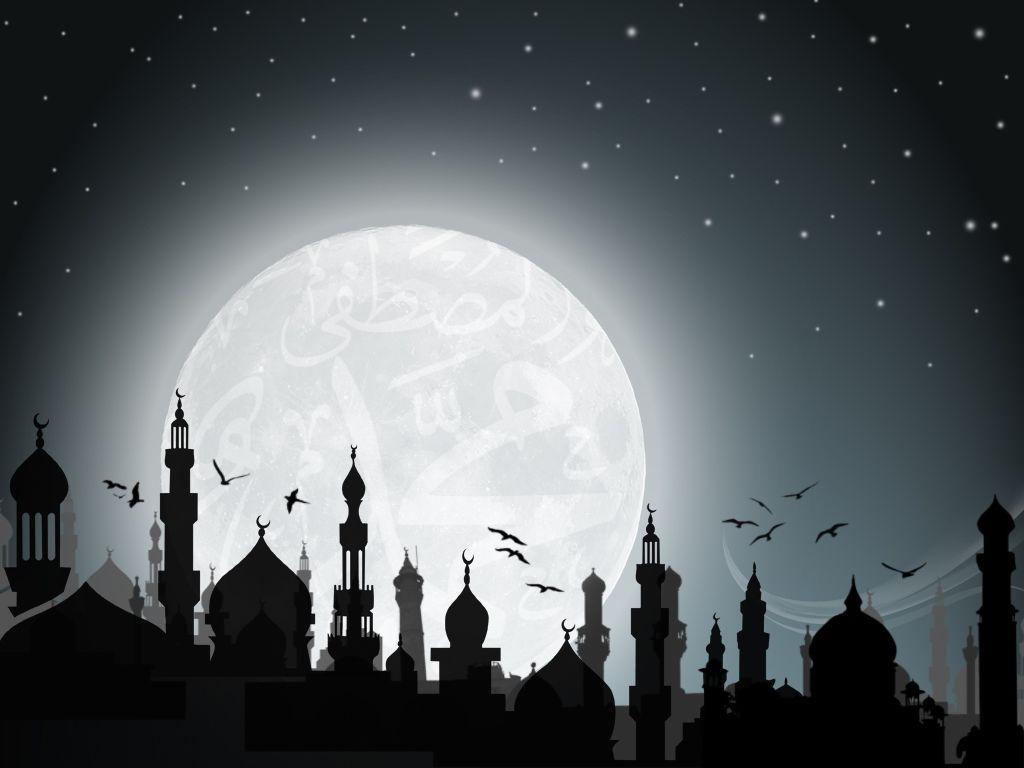 1024x768 Hình nền Hồi giáo D đẹp và đầy màu sắc để tải xuống