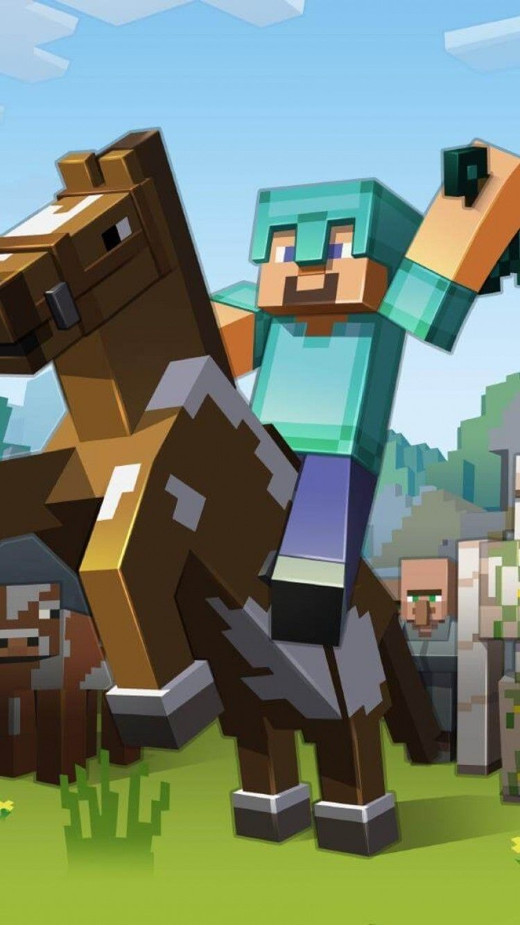 Minecraft Iphone Wallpapers Top Free Minecraft Iphone Backgrounds Wallpaperaccess