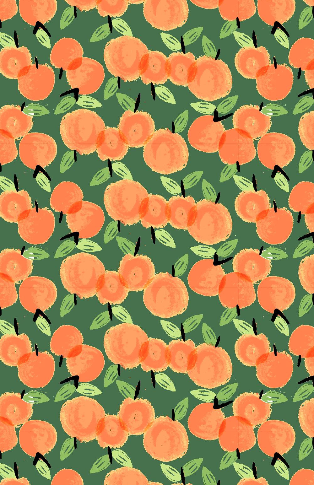 Cute Orange Wallpapers Top Free Cute Orange Backgrounds Wallpaperaccess