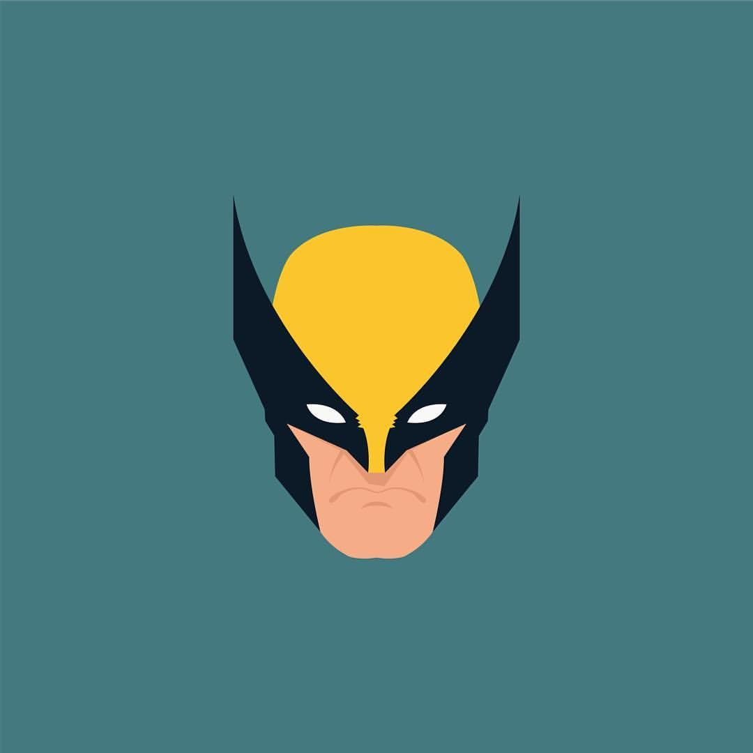 Chibi Wolverine Phone Wallpapers