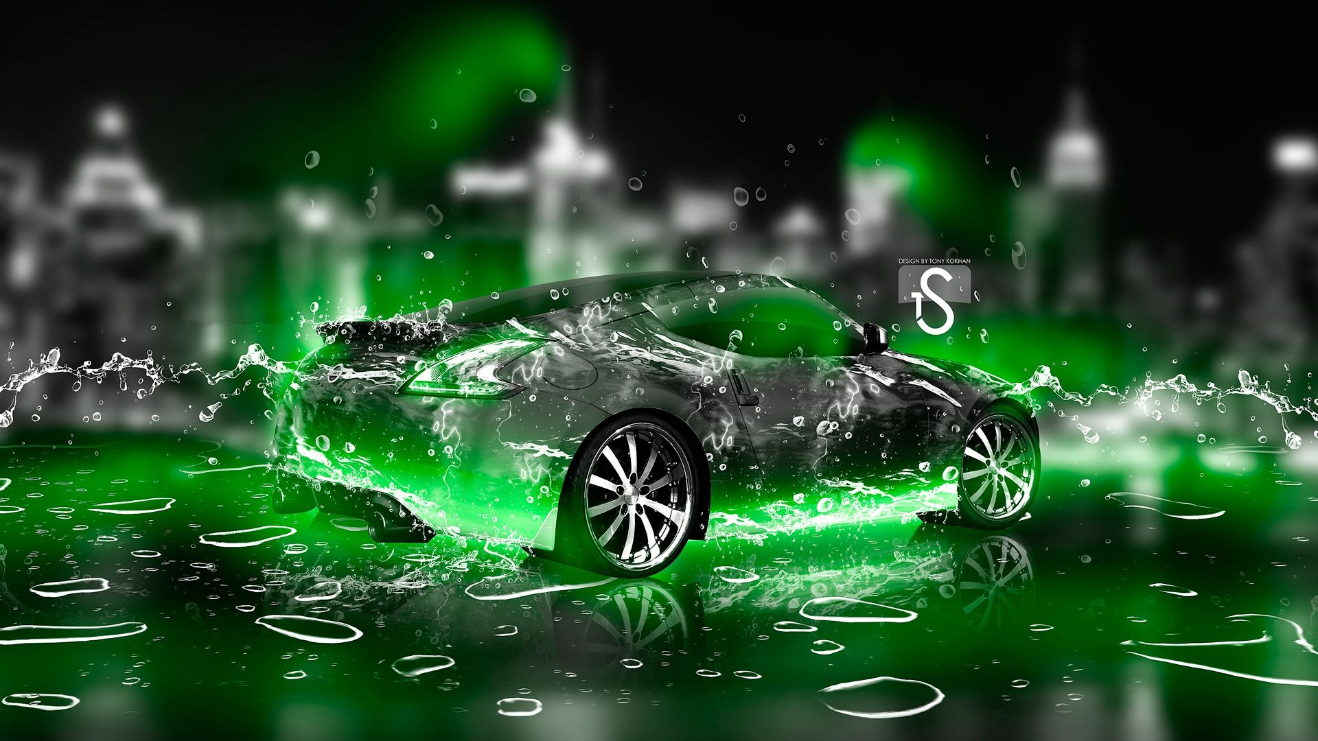 Neon Green Car Wallpapers Top Free Neon Green Car Backgrounds Wallpaperaccess