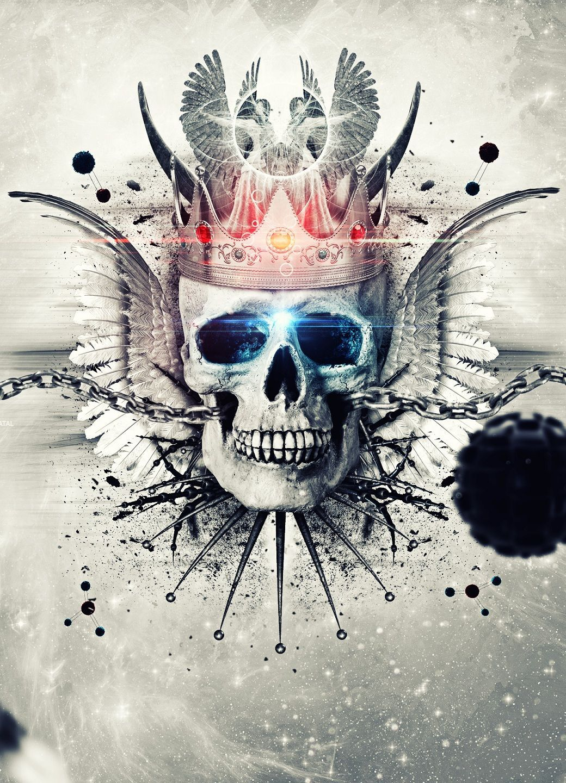 Skull king wallpapers top free skull king backgrounds - King wallpaper ...