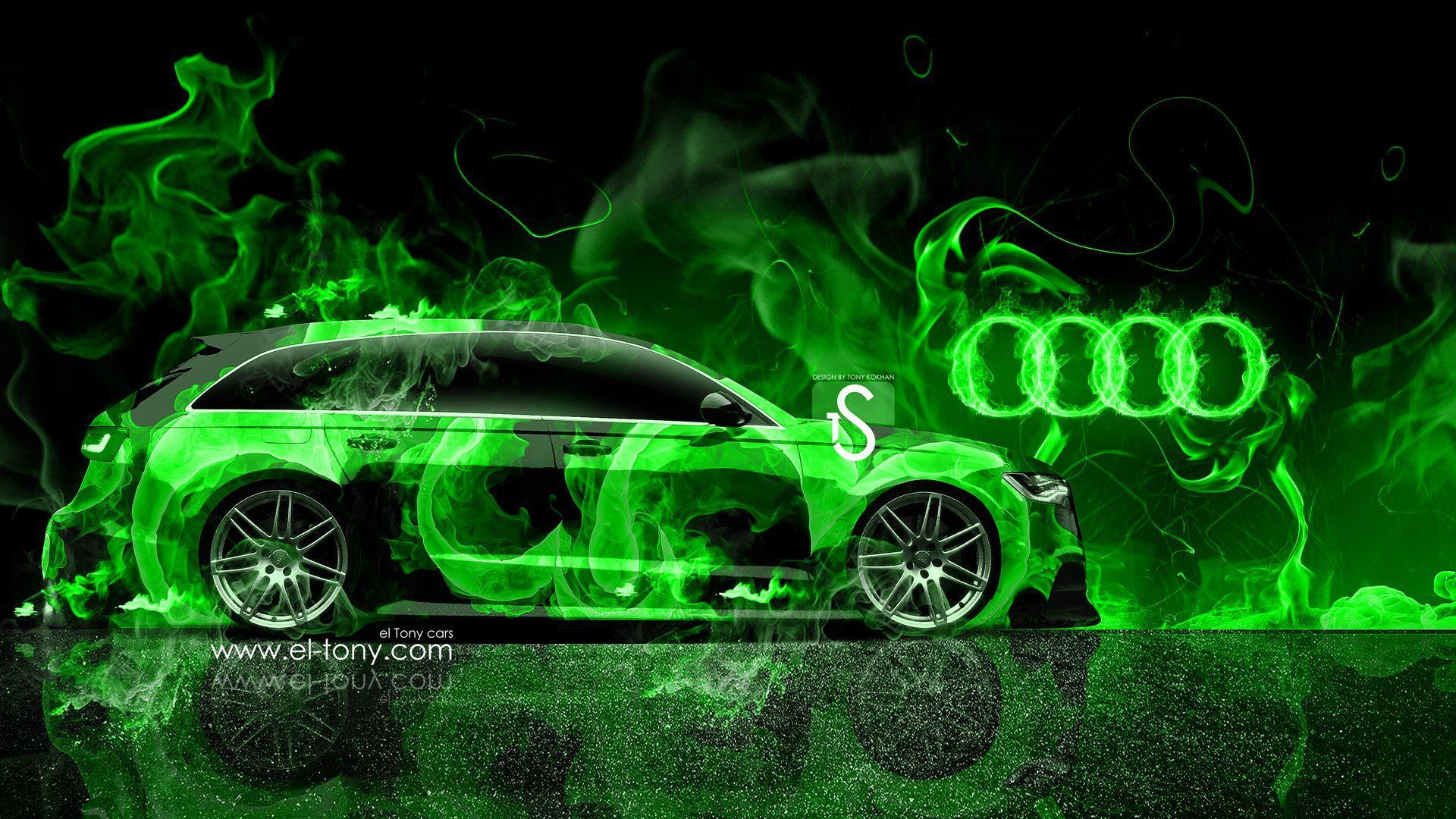 Neon Green Car Wallpapers Top Free Neon Green Car