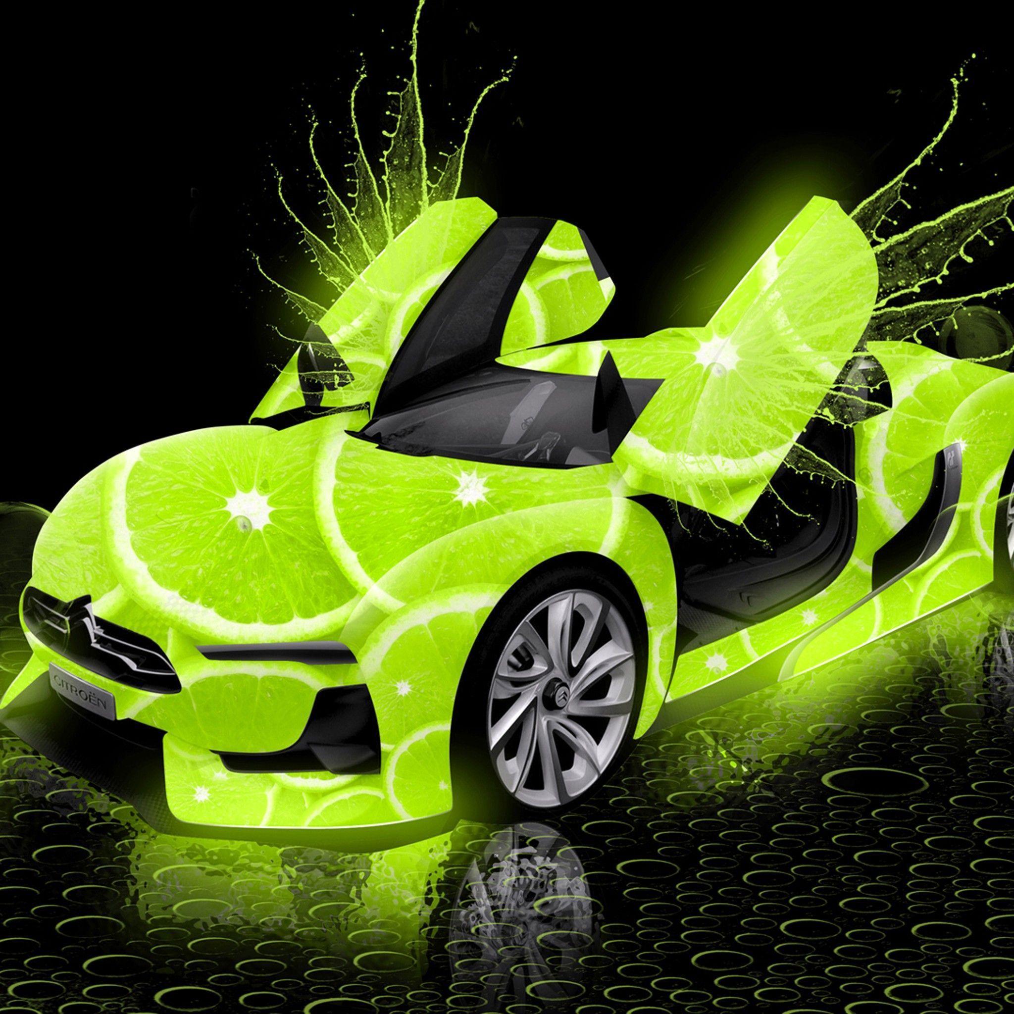 Neon Green Car Wallpapers