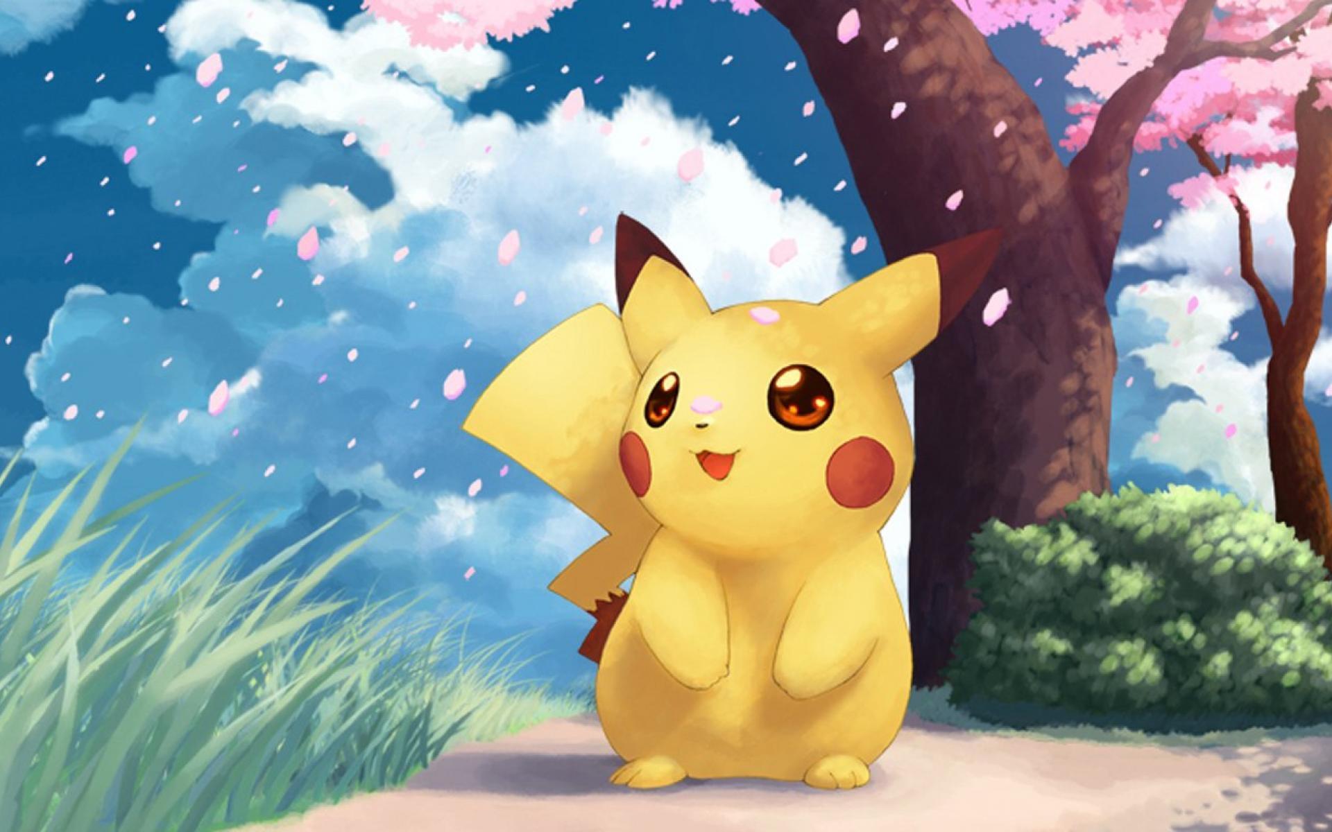 1920x1200 Nền Pokemon Pikachu Cave trên hình ảnh dễ thương nhất Full HD