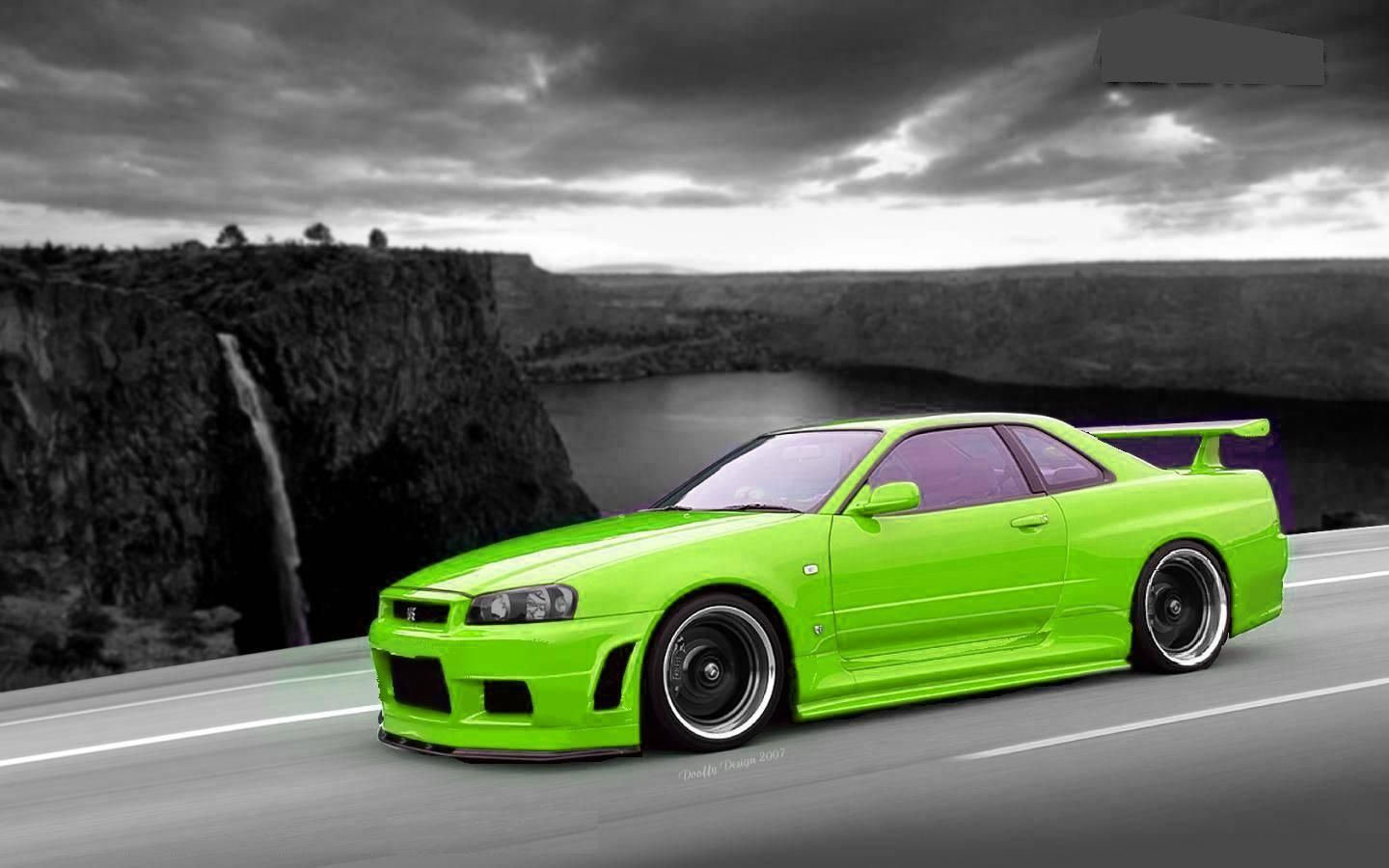 Neon Green Car Wallpapers Top Free Neon Green Car Backgrounds