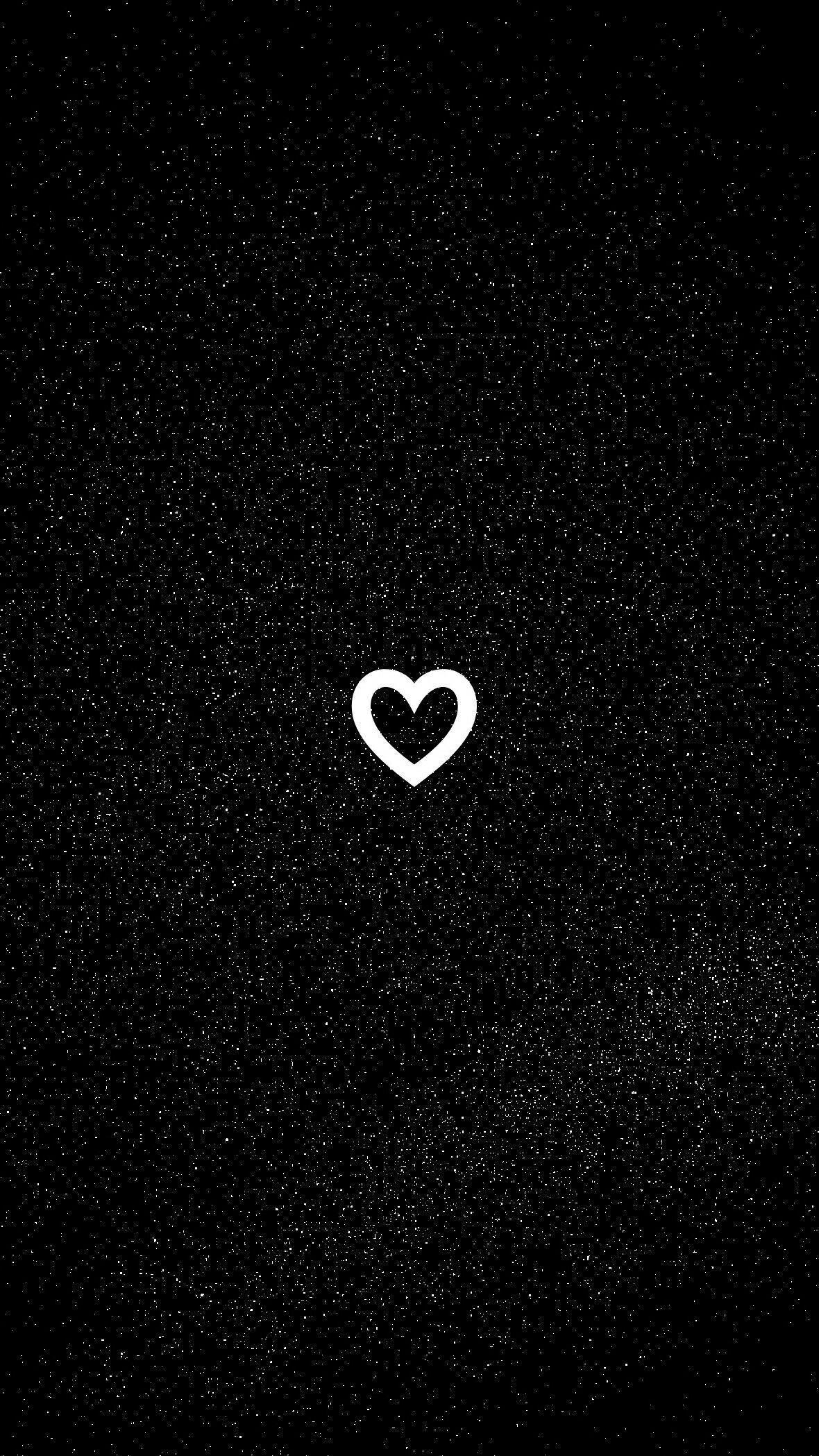 Black Heart Aesthetic Wallpapers - Top Free Black Heart ...