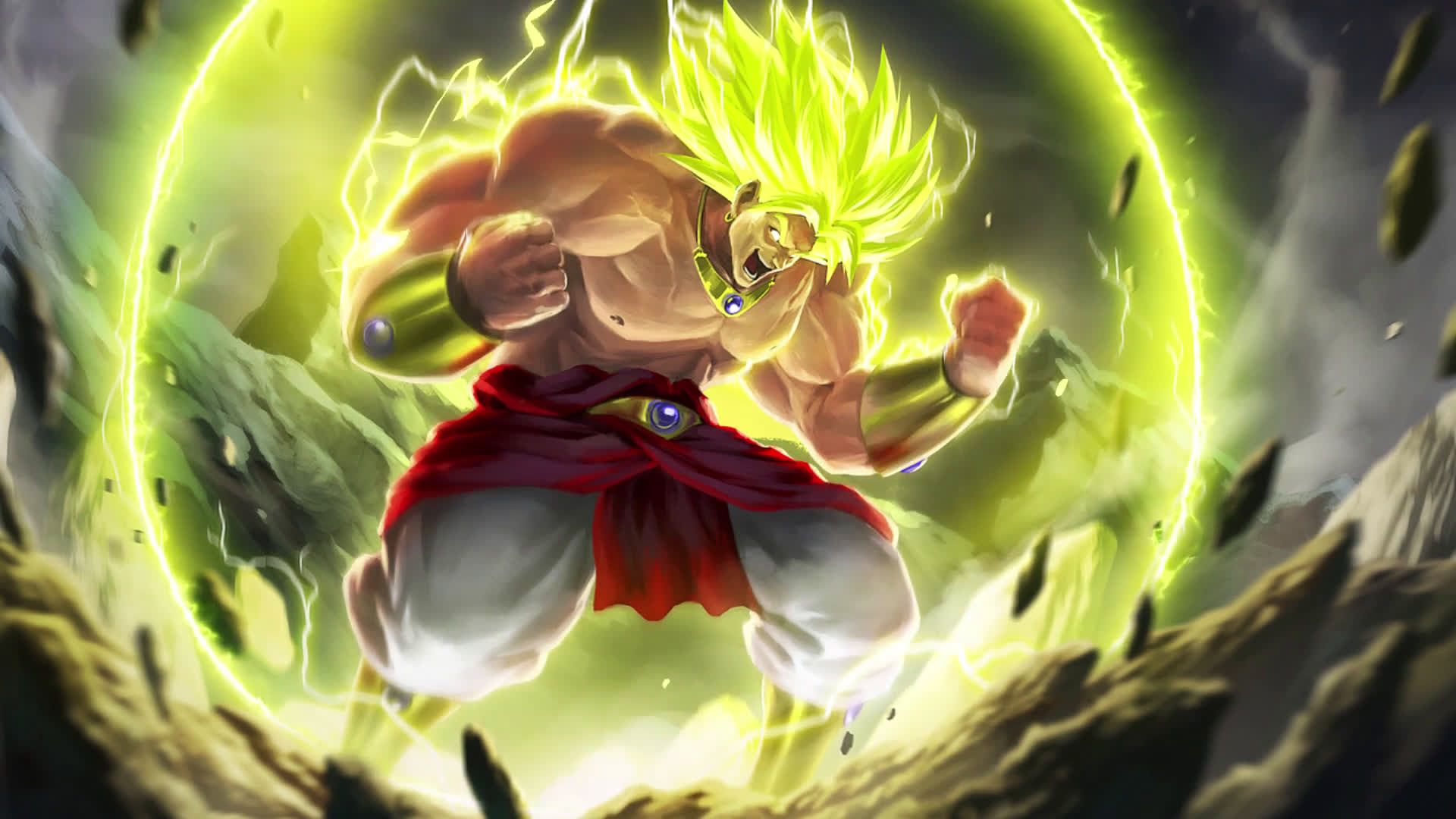 Broly Wallpapers Top Free Broly Backgrounds Wallpaperaccess