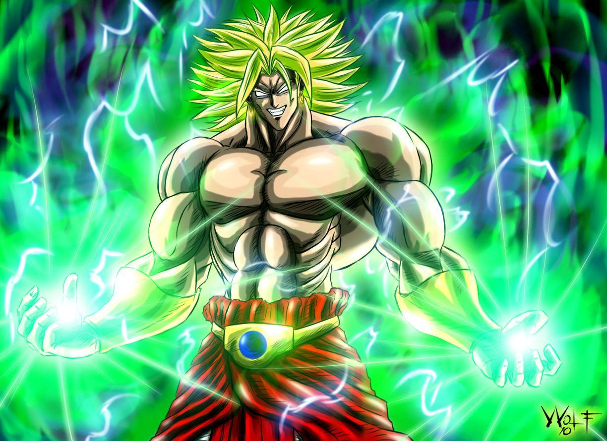 Dbz Broly Wallpapers Top Free Dbz Broly Backgrounds Wallpaperaccess