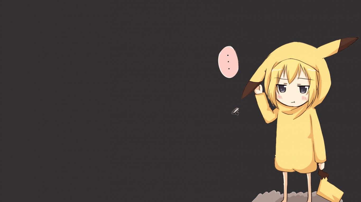 Hình nền Anime Kawaii 1366x768