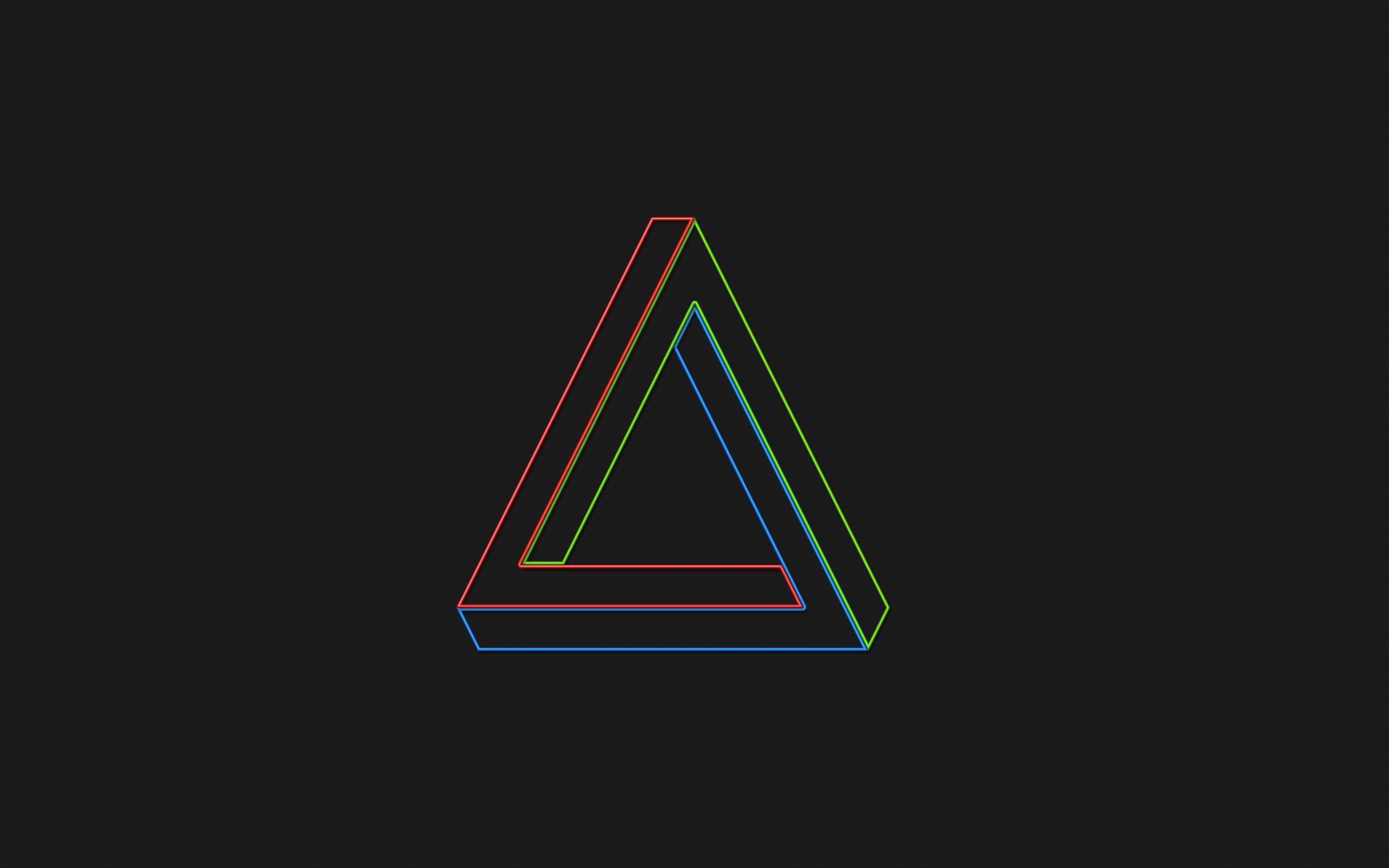 Penrose Triangle Wallp...
