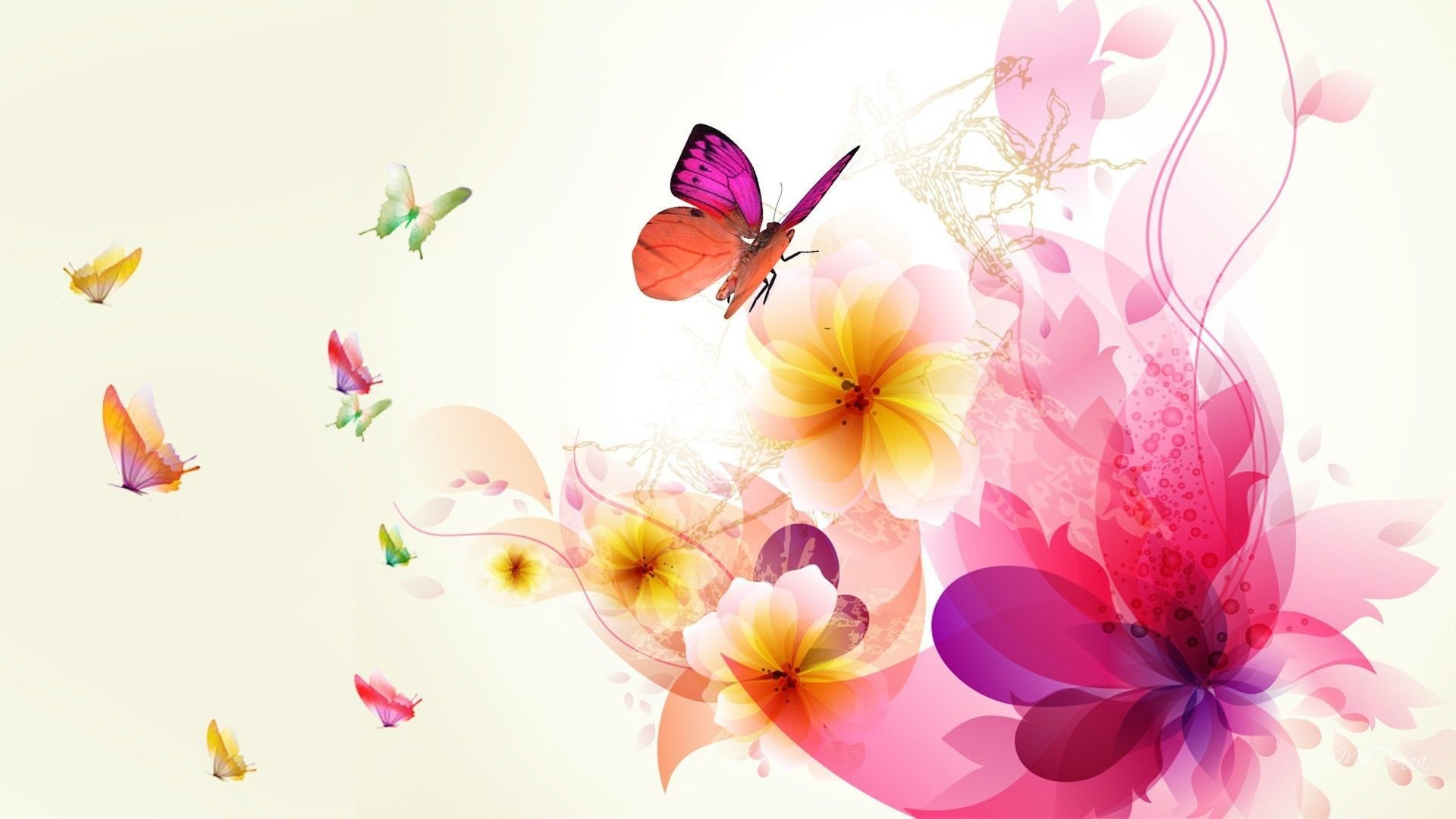 Abstract Floral Wallpapers Top Free Abstract Floral Backgrounds