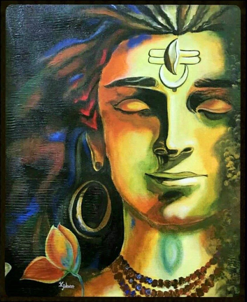Modern Art Indian God Wallpapers