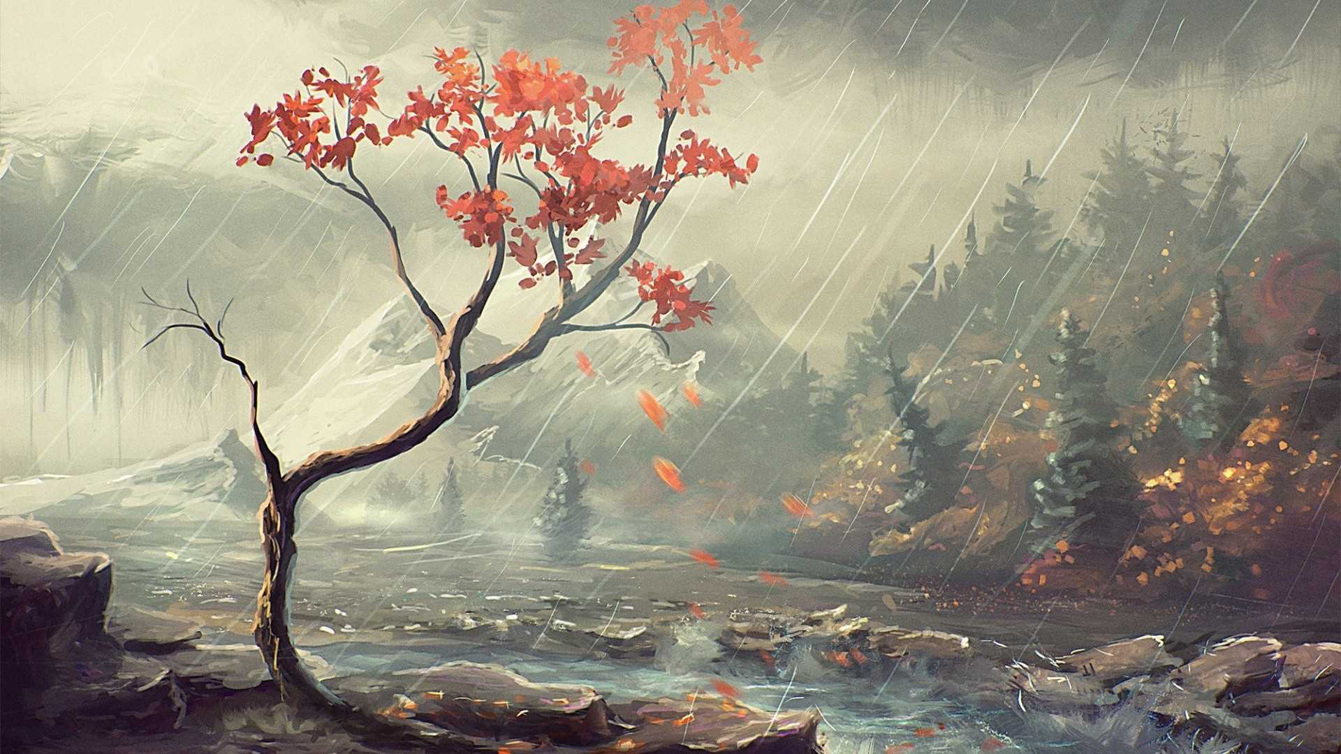 Japanese Landscape Painting Wallpapers Top Free Japanese