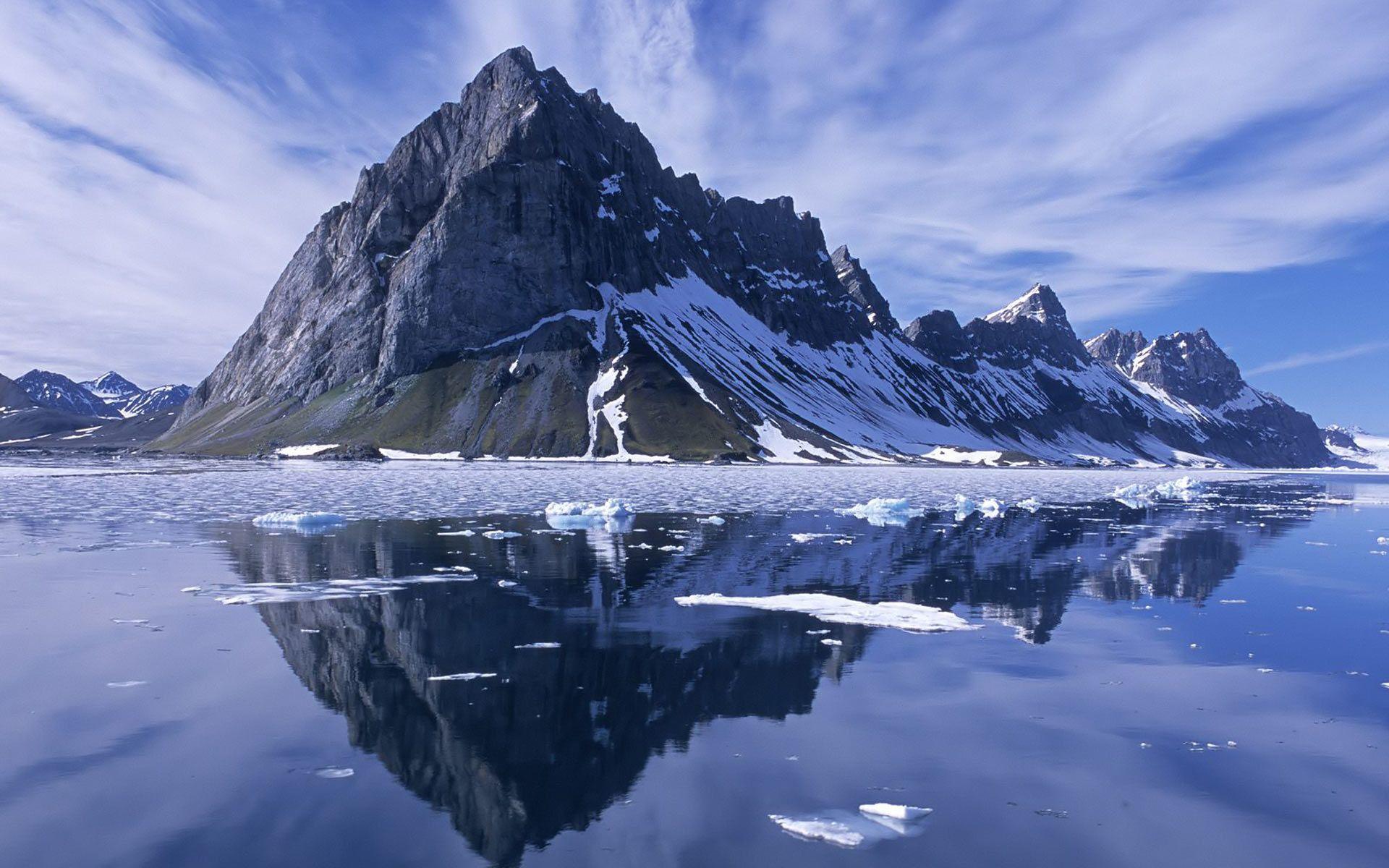 Hình nền núi có độ phân giải cao 1920x1200