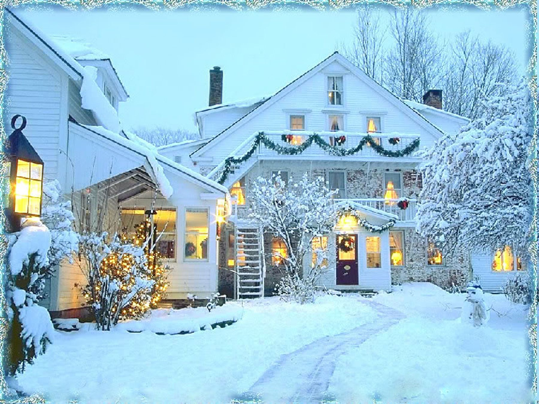 Country Christmas Background Wallpaper.Christmas High Resolution Nature Wallpapers Top Free