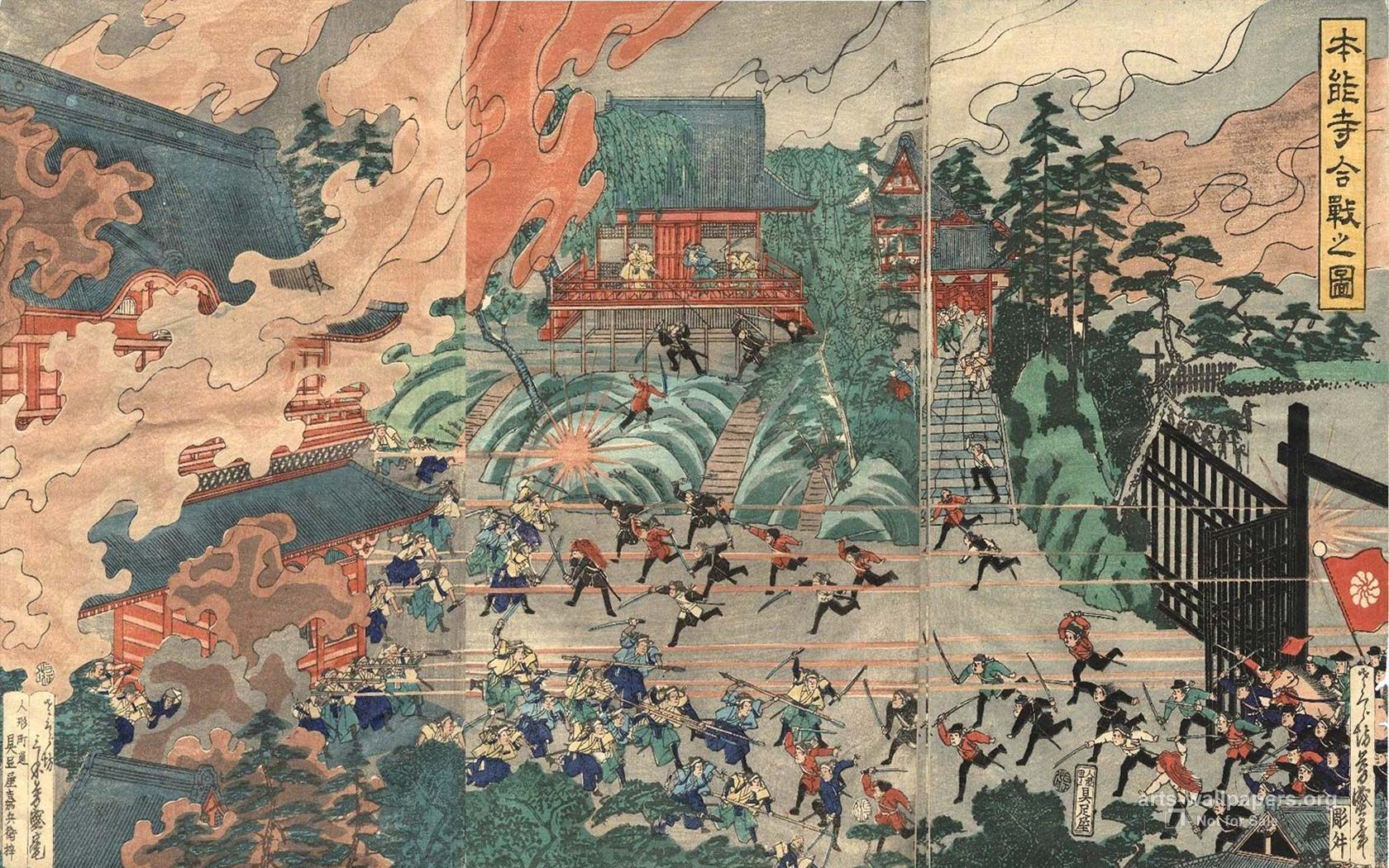 Japanese Painting Wallpapers Top Free Japanese Painting Backgrounds Wallpaperaccess