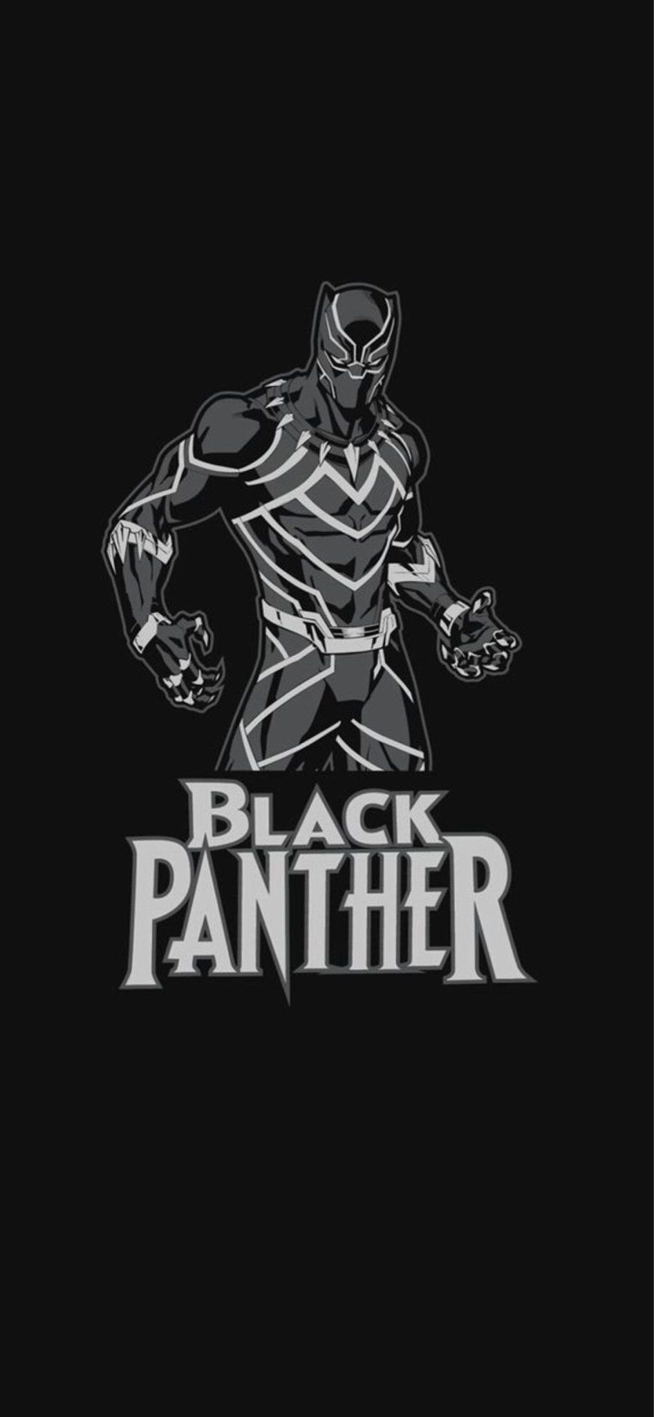 Black Panther Iphone Wallpapers Top Free Black Panther Iphone