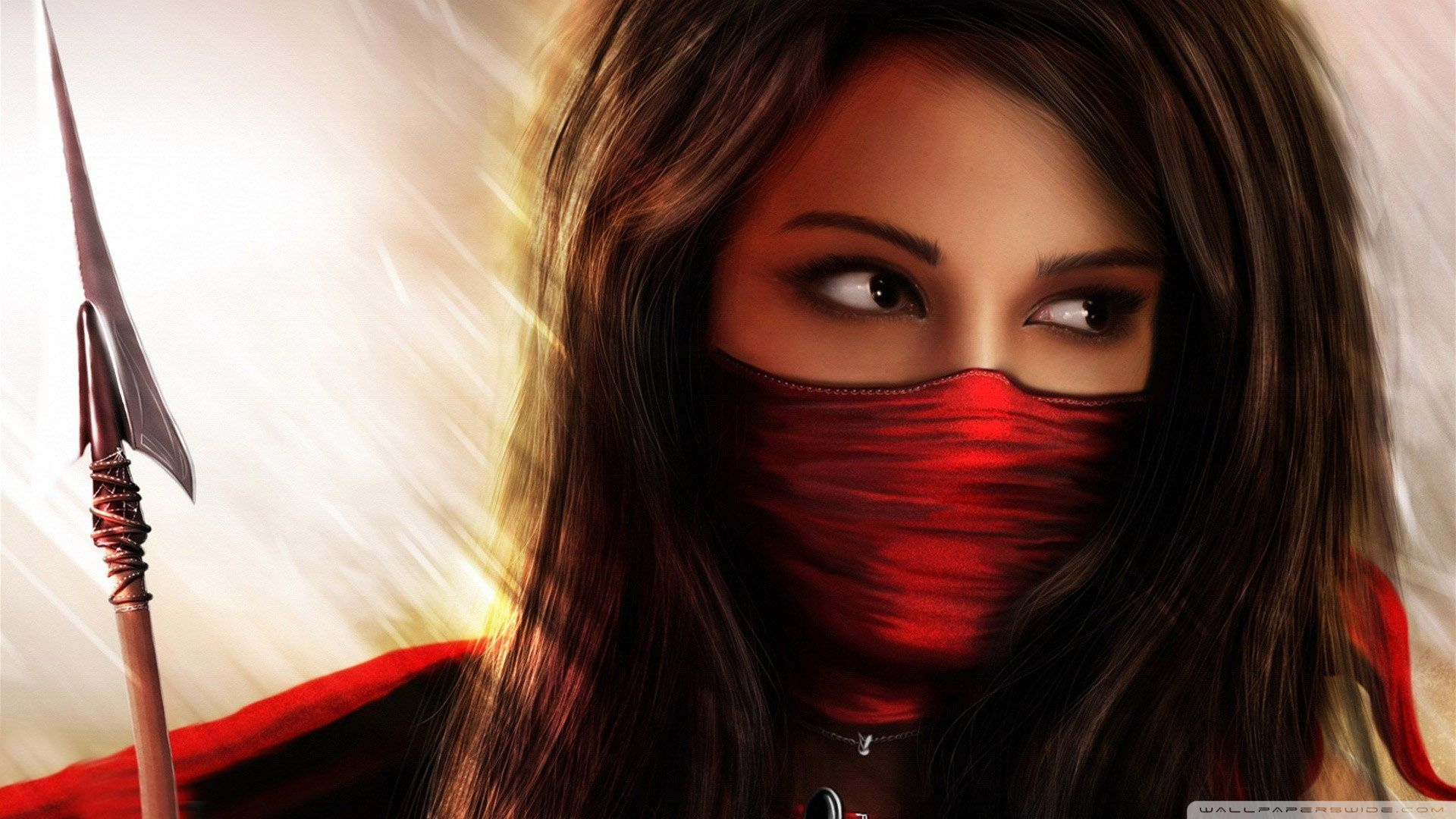 Ninja Girl Wallpapers Top Free Ninja Girl Backgrounds Wallpaperaccess