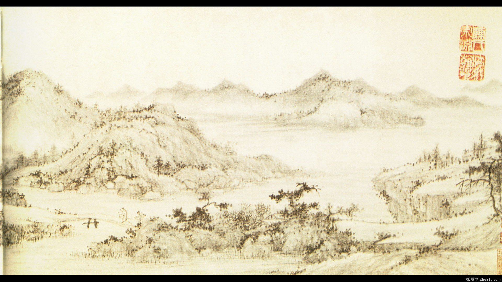 Traditional Chinese Paintings Wallpapers - Top Free