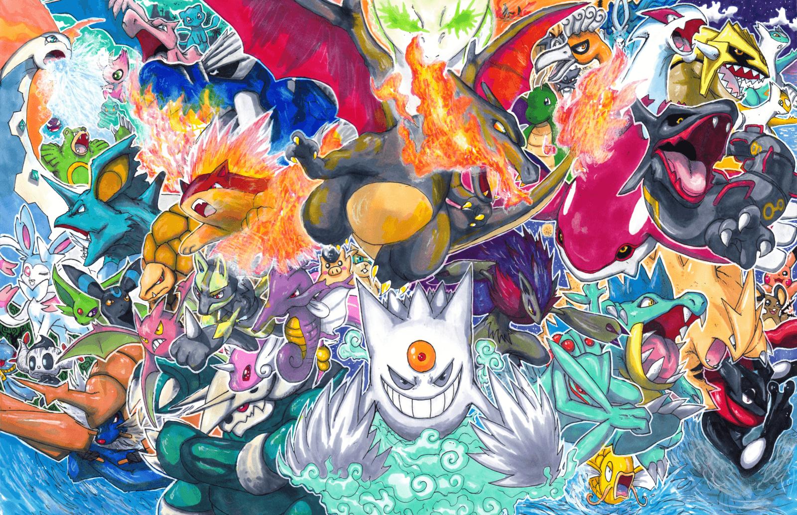 All Shiny Legendary Pokemon Wallpapers Top Free All Shiny Legendary Pokemon Backgrounds Wallpaperaccess