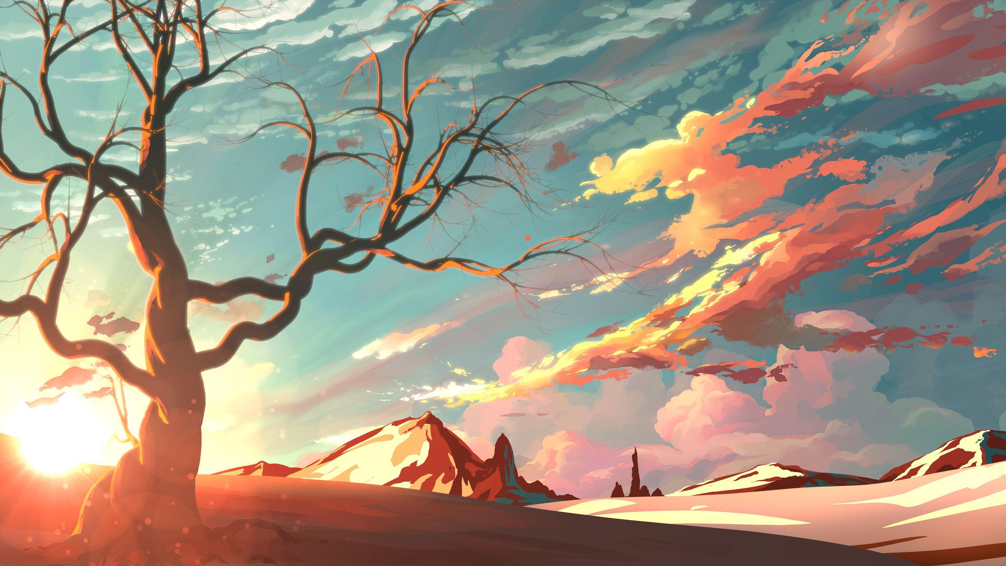 Artistic Landscape Wallpapers Top Free Artistic Landscape Backgrounds Wallpaperaccess