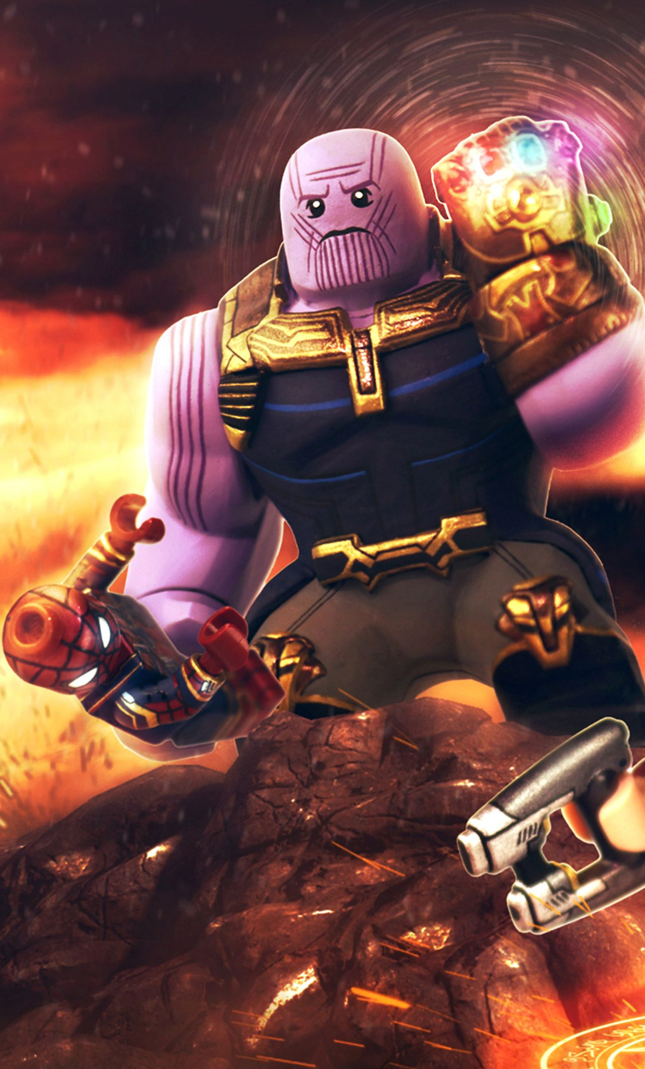 Lego Thanos Iphone Wallpapers Top Free Lego Thanos Iphone Images, Photos, Reviews
