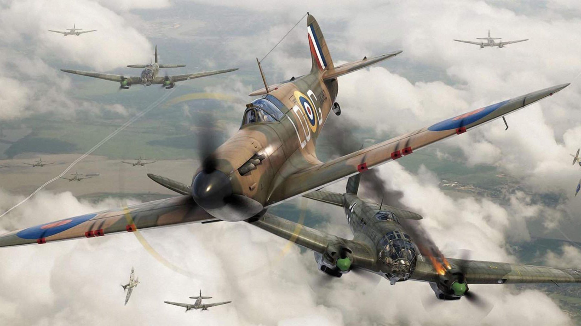 Ww2 Fighter Plane Wallpapers Top Free Ww2 Fighter Plane Backgrounds Wallpaperaccess