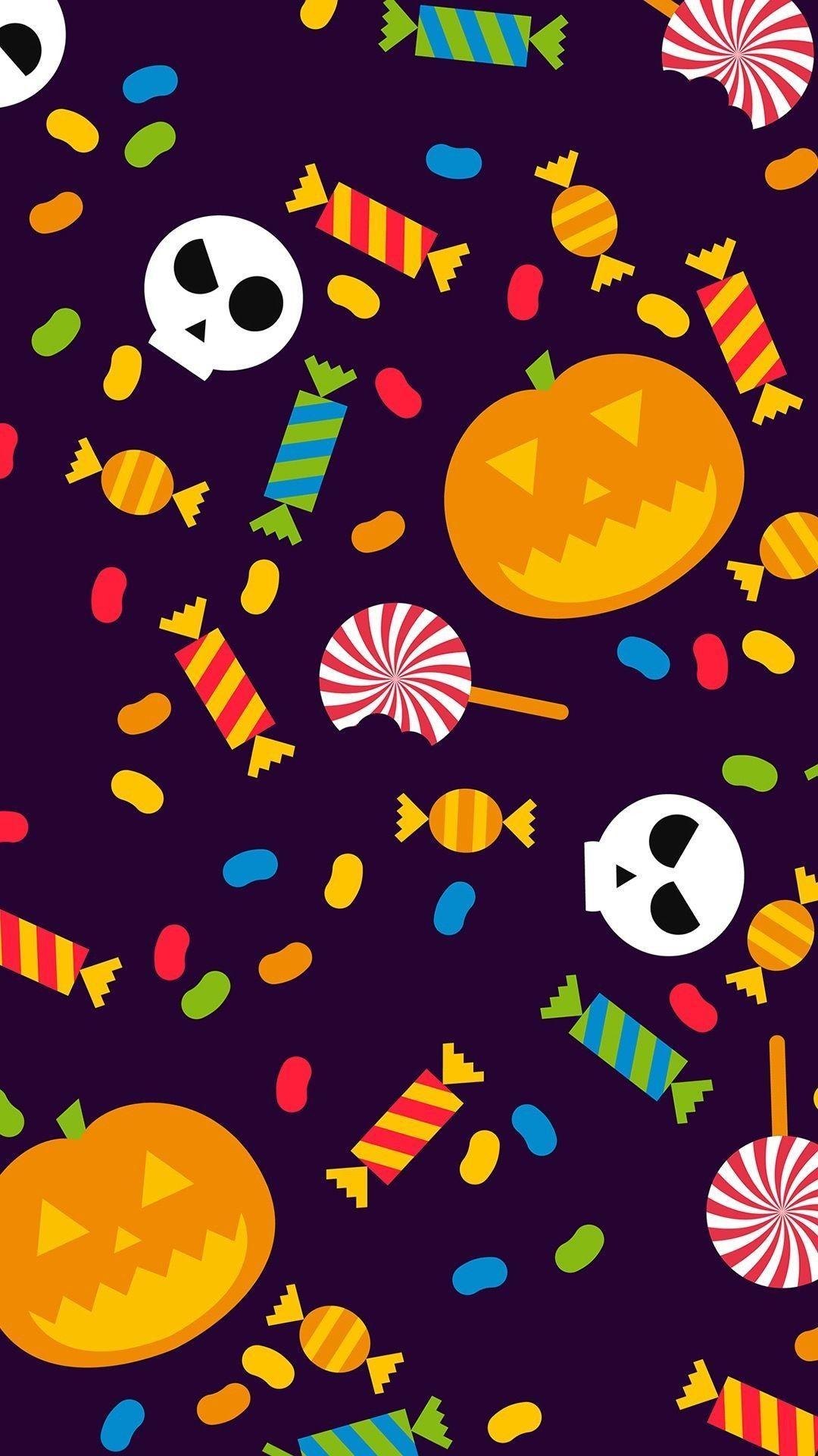 Cute Halloween Iphone Wallpapers Top Free Cute Halloween Iphone Backgrounds Wallpaperaccess