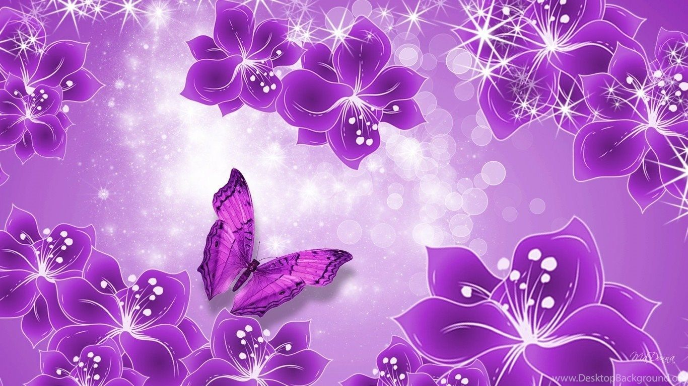 Purple Girly Desktop Wallpapers Top Free Purple Girly Desktop