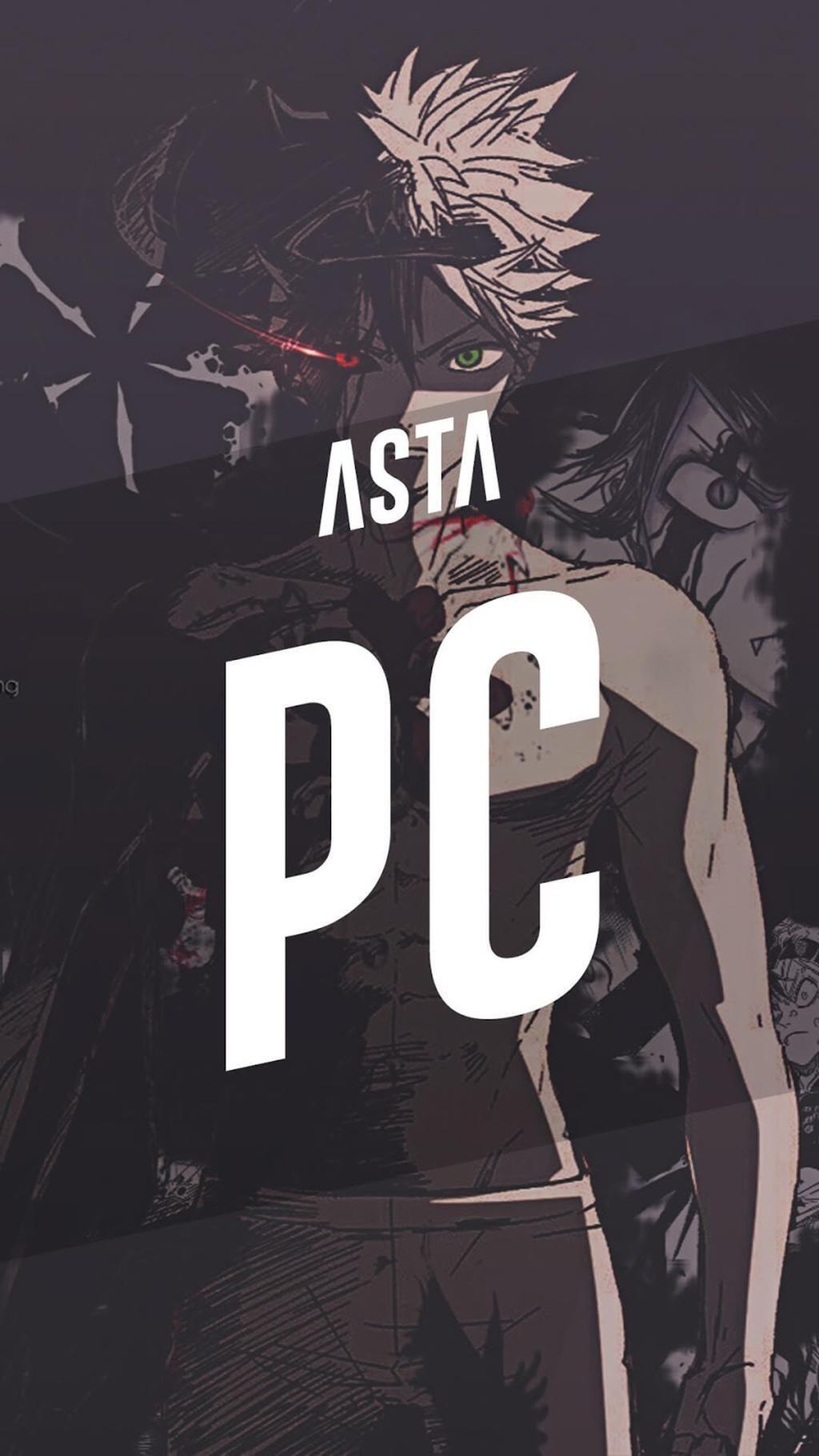 Asta Black Clover Wallpapers Top Free Asta Black Clover