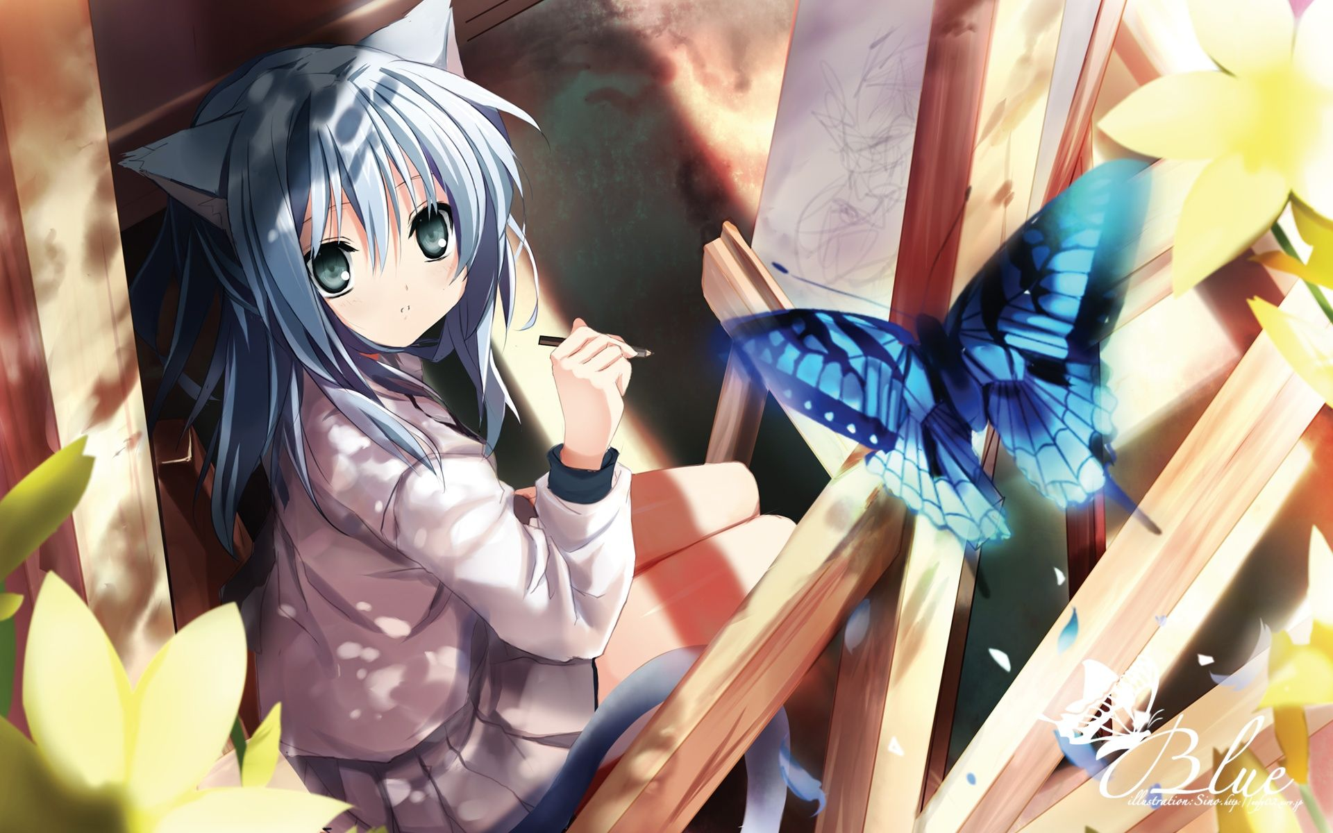 Anime Neko Girl Wallpapers Top Free Anime Neko Girl