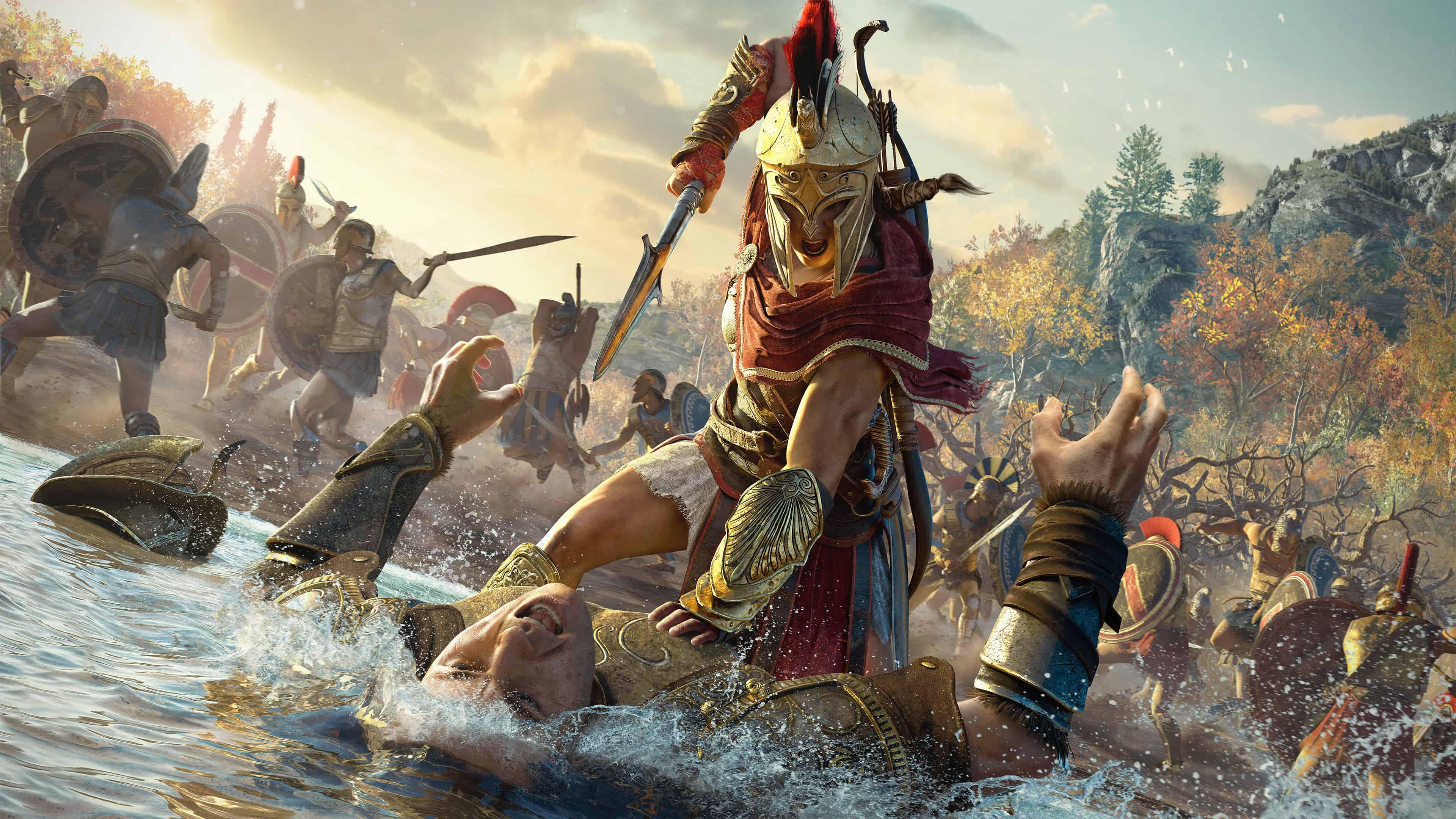 Assassins Creed Odyssey Wallpapers Top Free Assassins