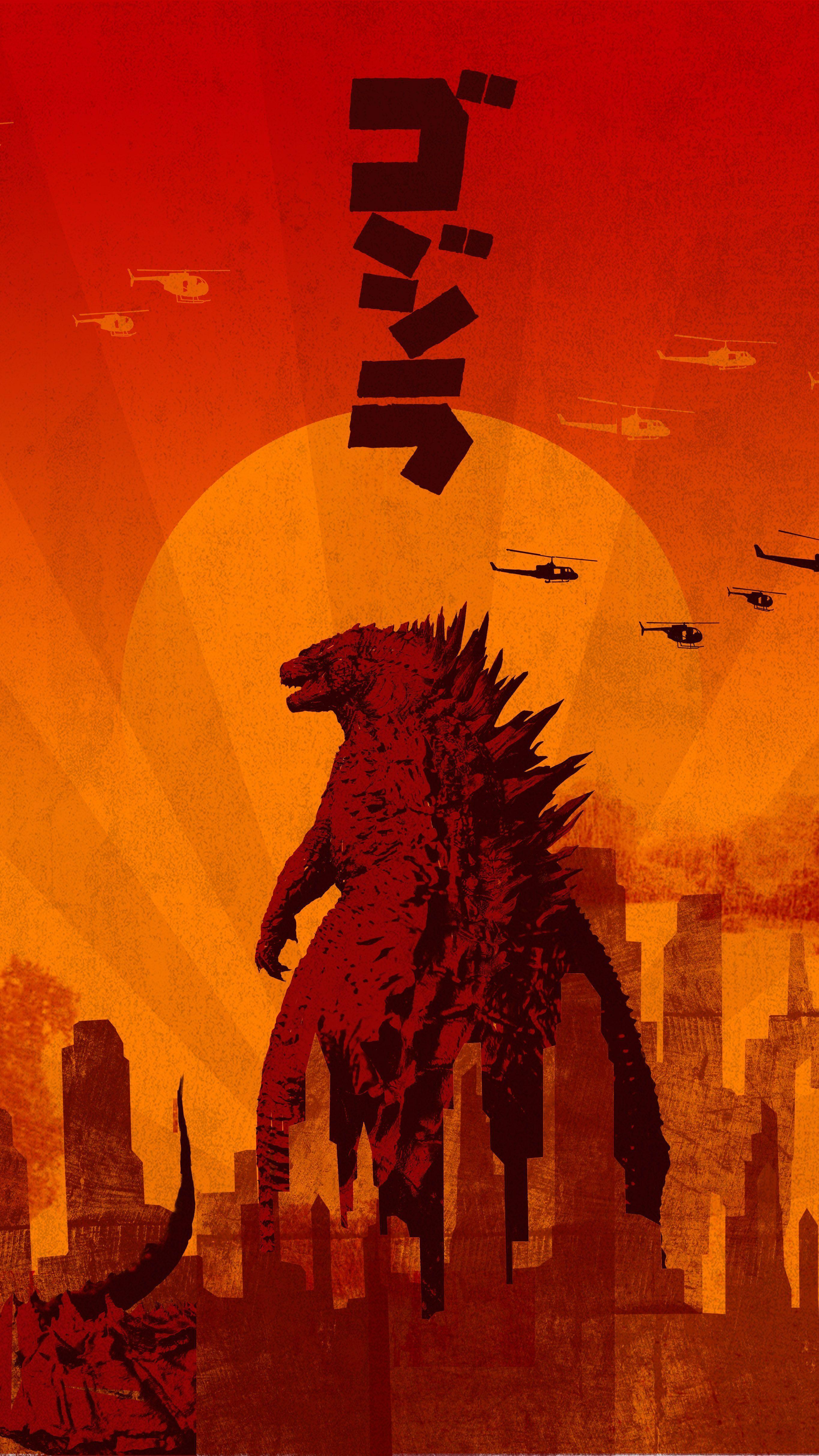 Godzilla Phone Wallpapers Top Free Godzilla Phone