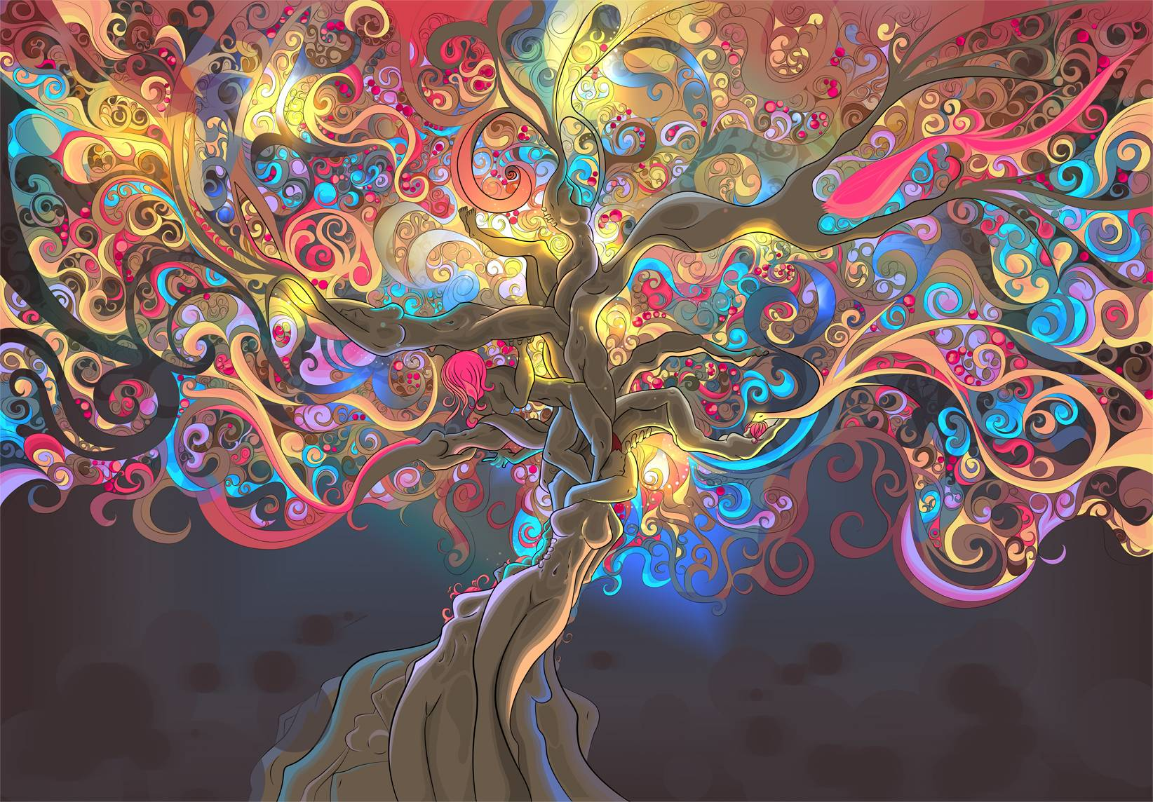 Psychedelic Art Wallpapers Top Free Psychedelic Art Backgrounds Wallpaperaccess