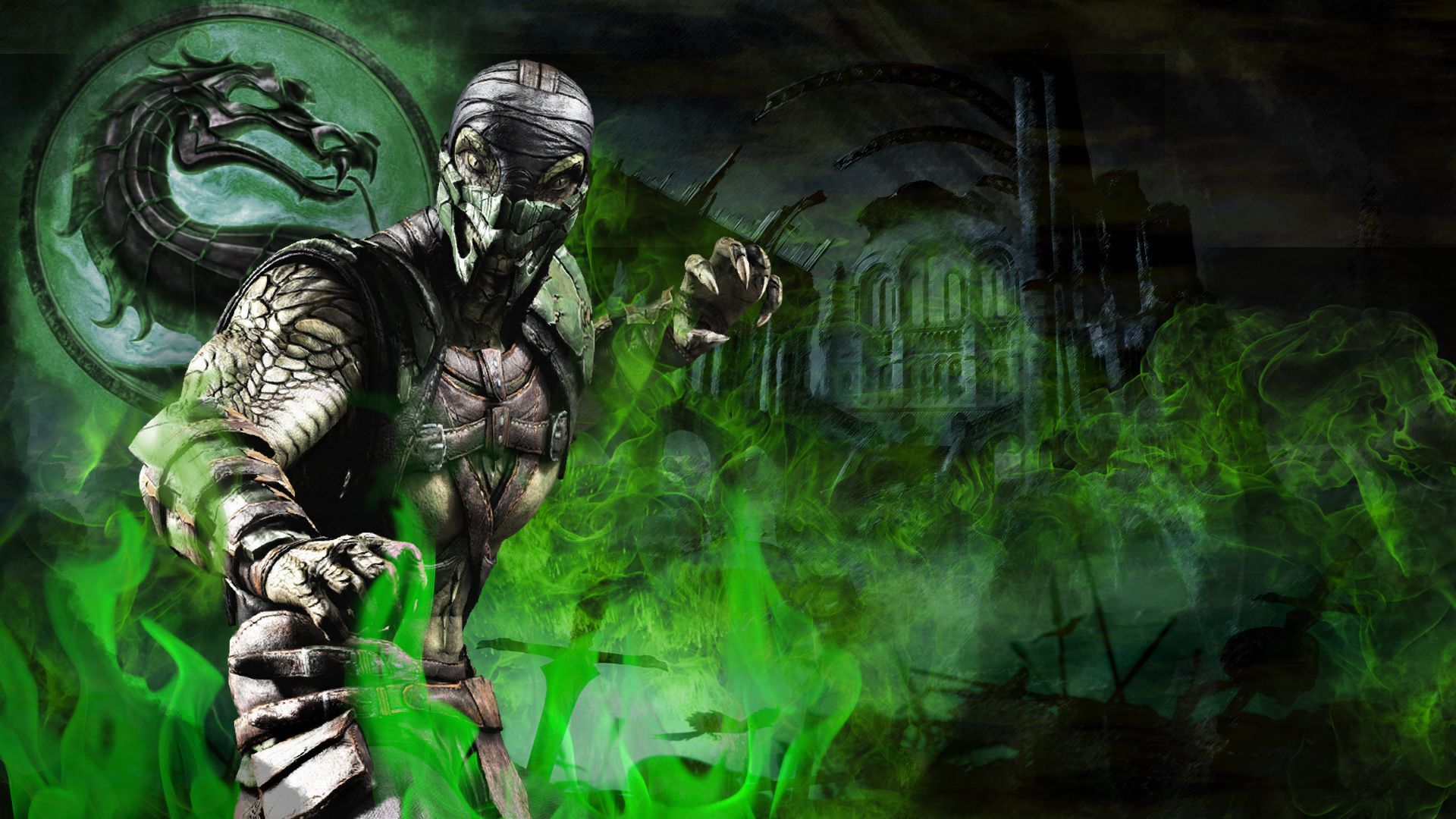Mortal Kombat Reptile Wallpapers Top Free Mortal Kombat