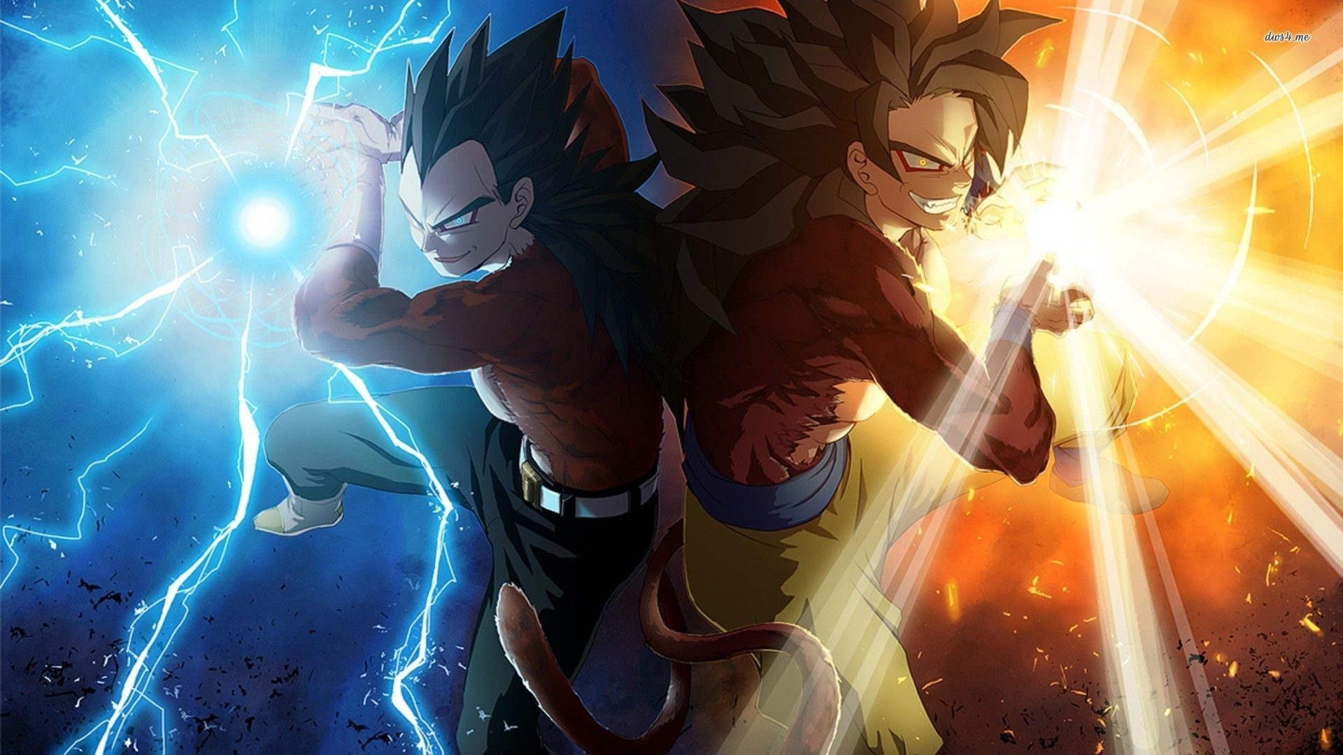 Goku Vegeta Wallpapers Top Free Goku Vegeta Backgrounds Wallpaperaccess