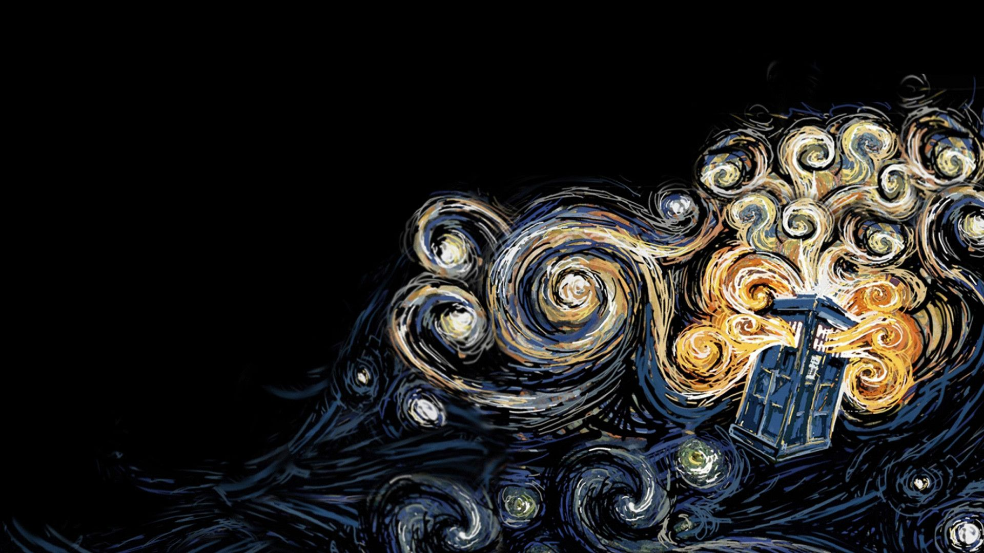 Van Gogh Doctor Who Wallpapers Top Free Van Gogh Doctor Who Backgrounds Wallpaperaccess