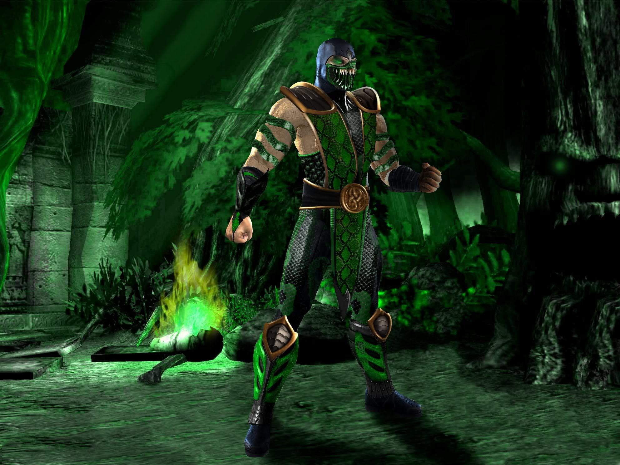 Mortal Kombat Reptile Wallpapers - Top Free Mortal Kombat
