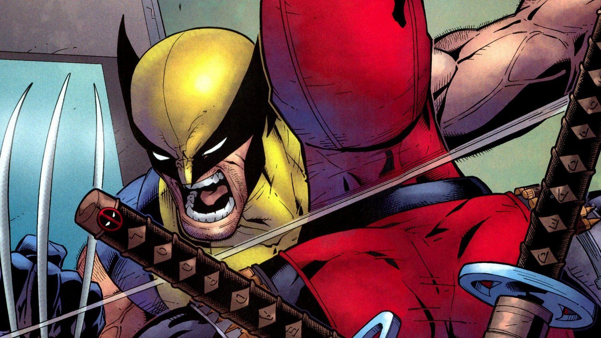 Wolverine Vs Deadpool Wallpapers Top Free Wolverine Vs Deadpool