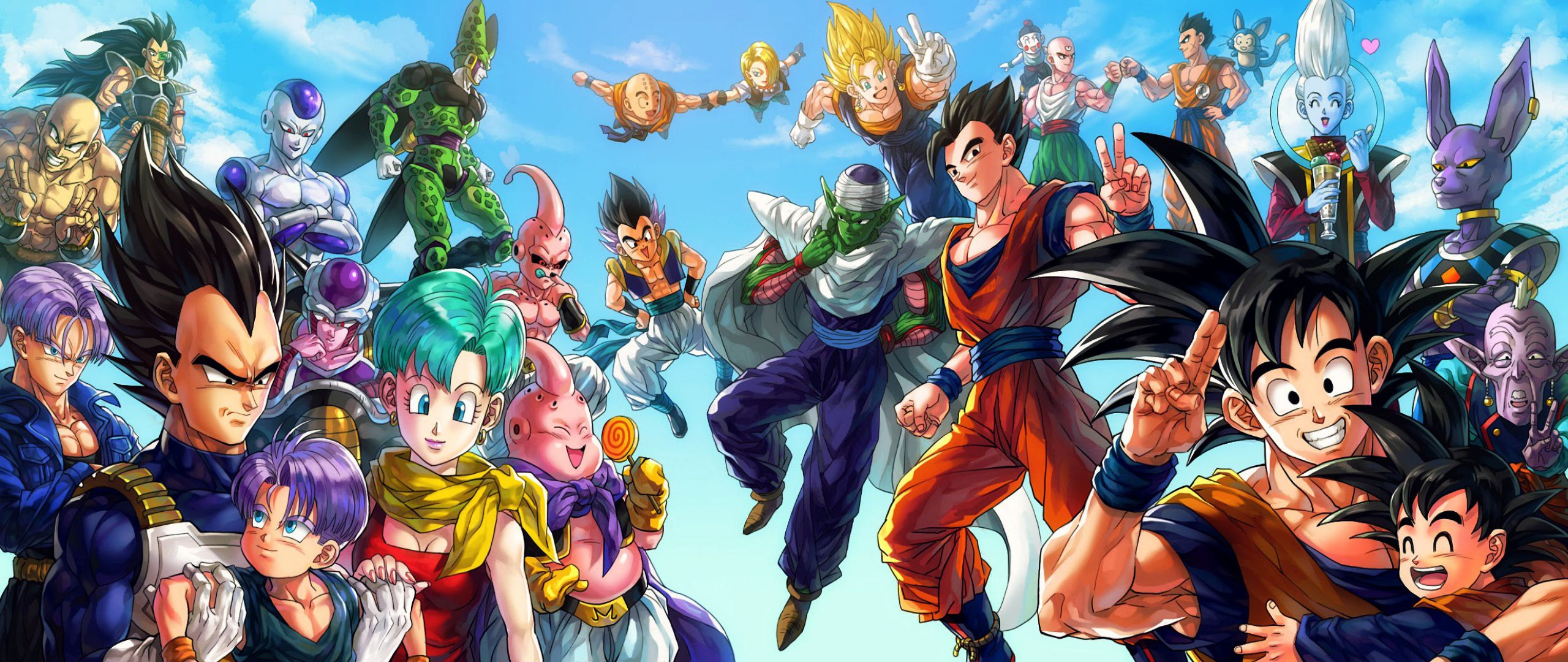 Dragon Ball Wallpapers Top Free Dragon Ball Backgrounds