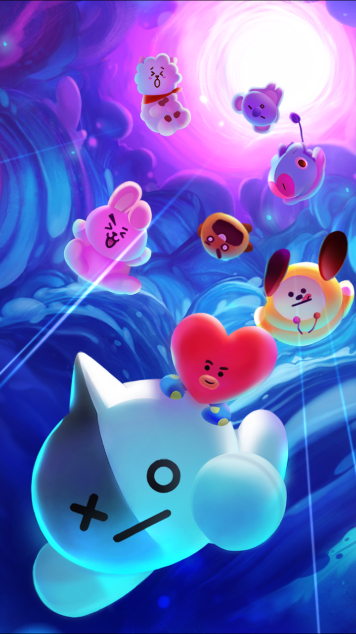 BT21 Wallpapers Top Free BT21 Backgrounds WallpaperAccess