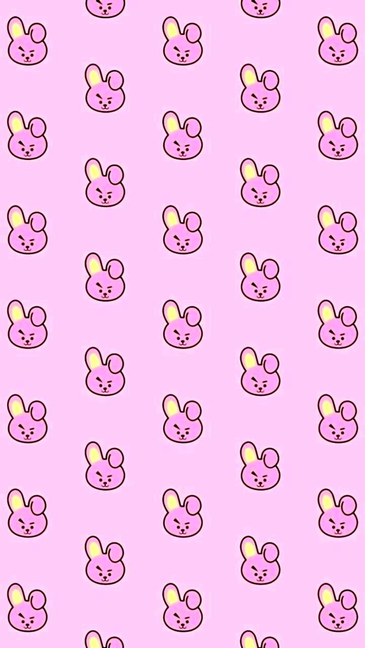 720x1280 Hình ảnh về màu hồng trong hình nền BT21 Khóa màn hình theo tên cô ấy là Noelle