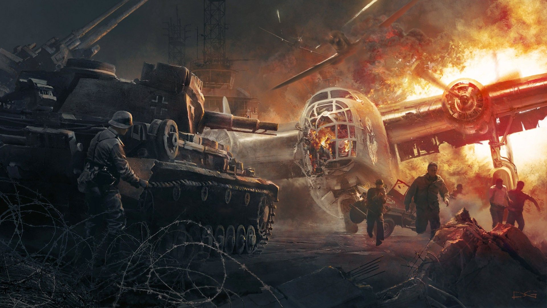 Full Military Battle Wallpapers Top Free Full Military Battle Backgrounds Wallpaperaccess