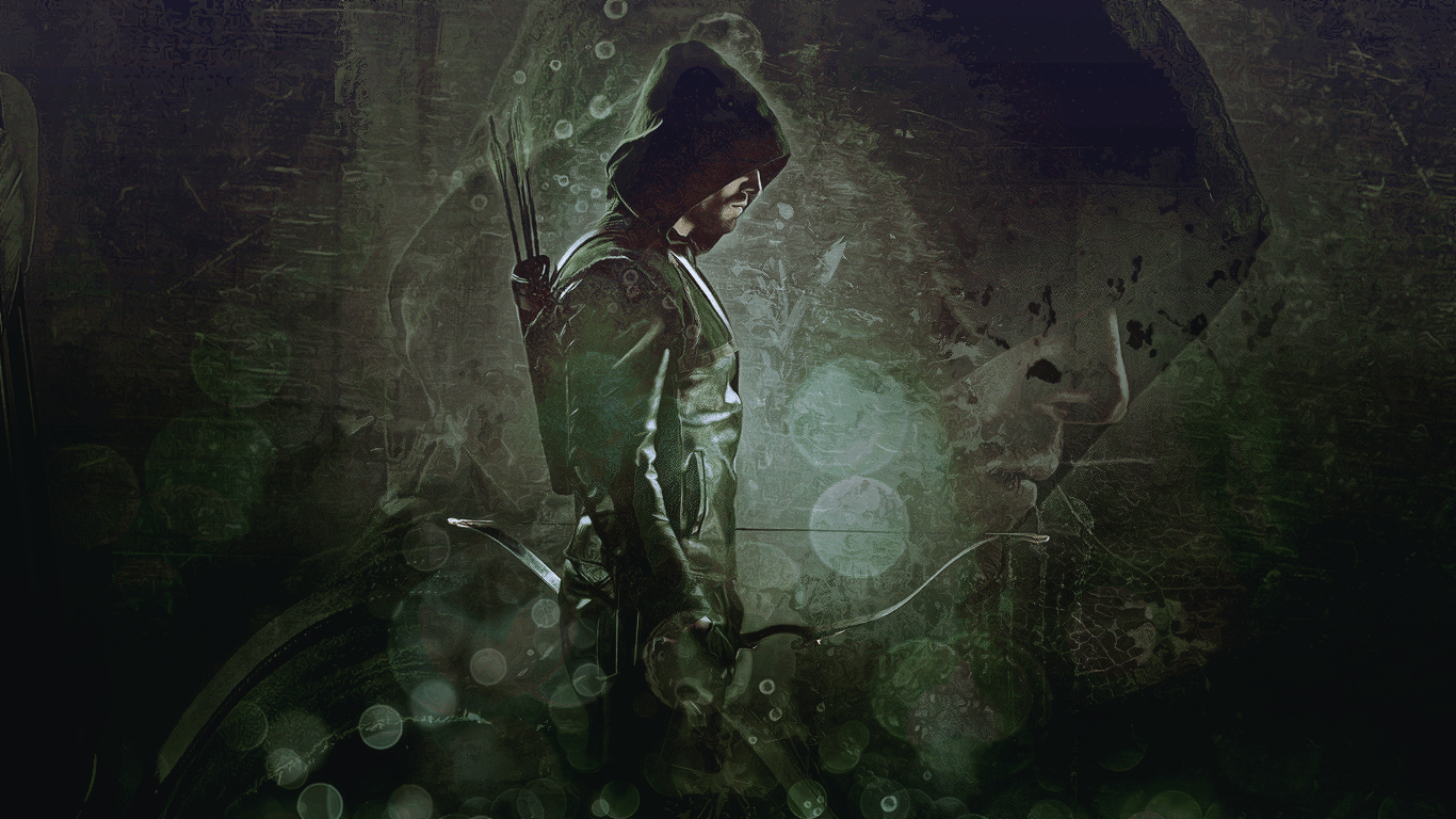 """1028x1920 Green Arrow icon (Would make a cool Tattoo!) 