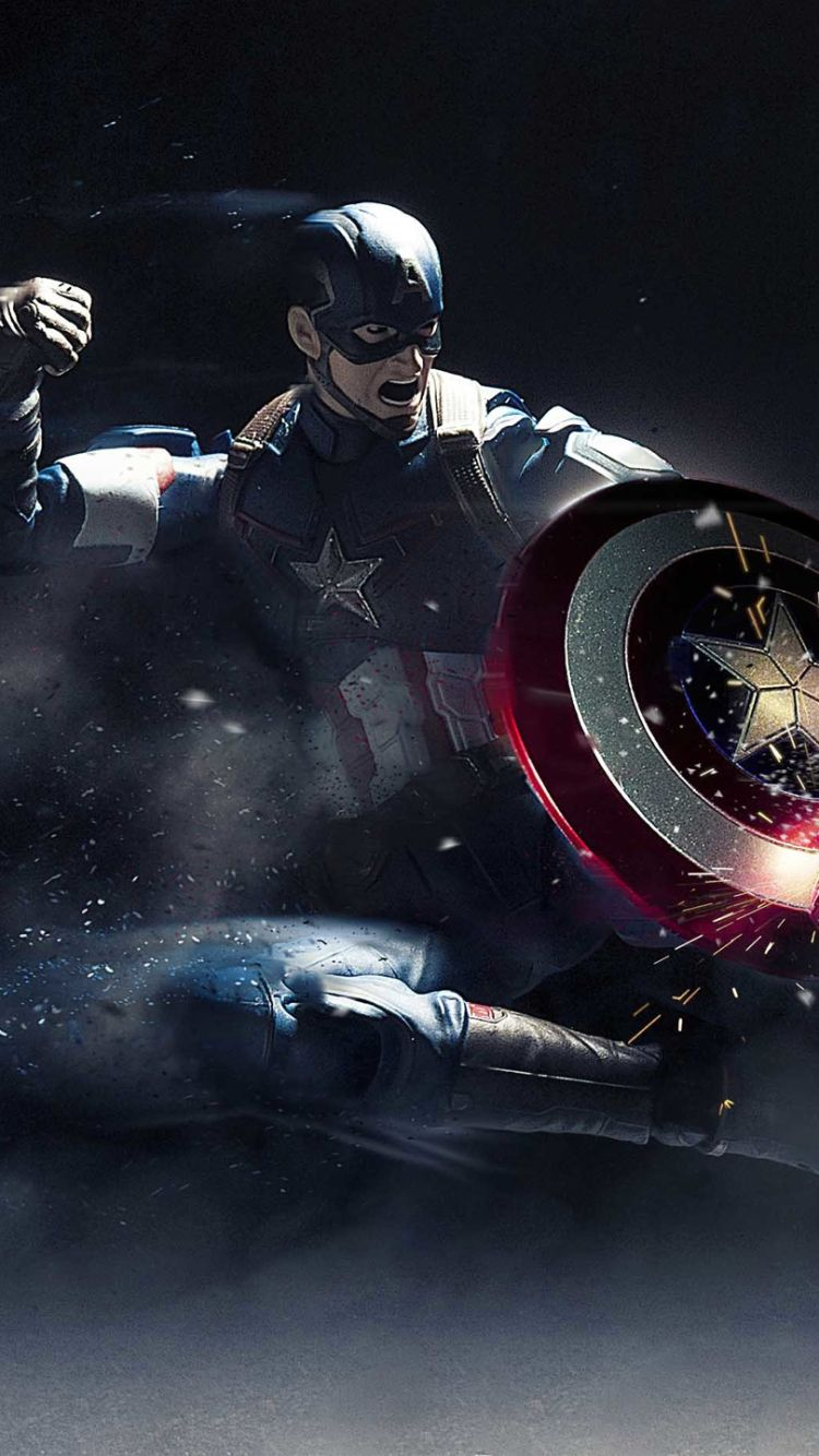 Captain america mobile wallpapers top free captain - Captain america hd mobile wallpaper ...