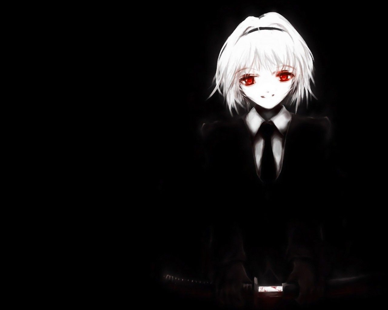 Creepy Anime Wallpapers Top Free Creepy Anime Backgrounds Wallpaperaccess