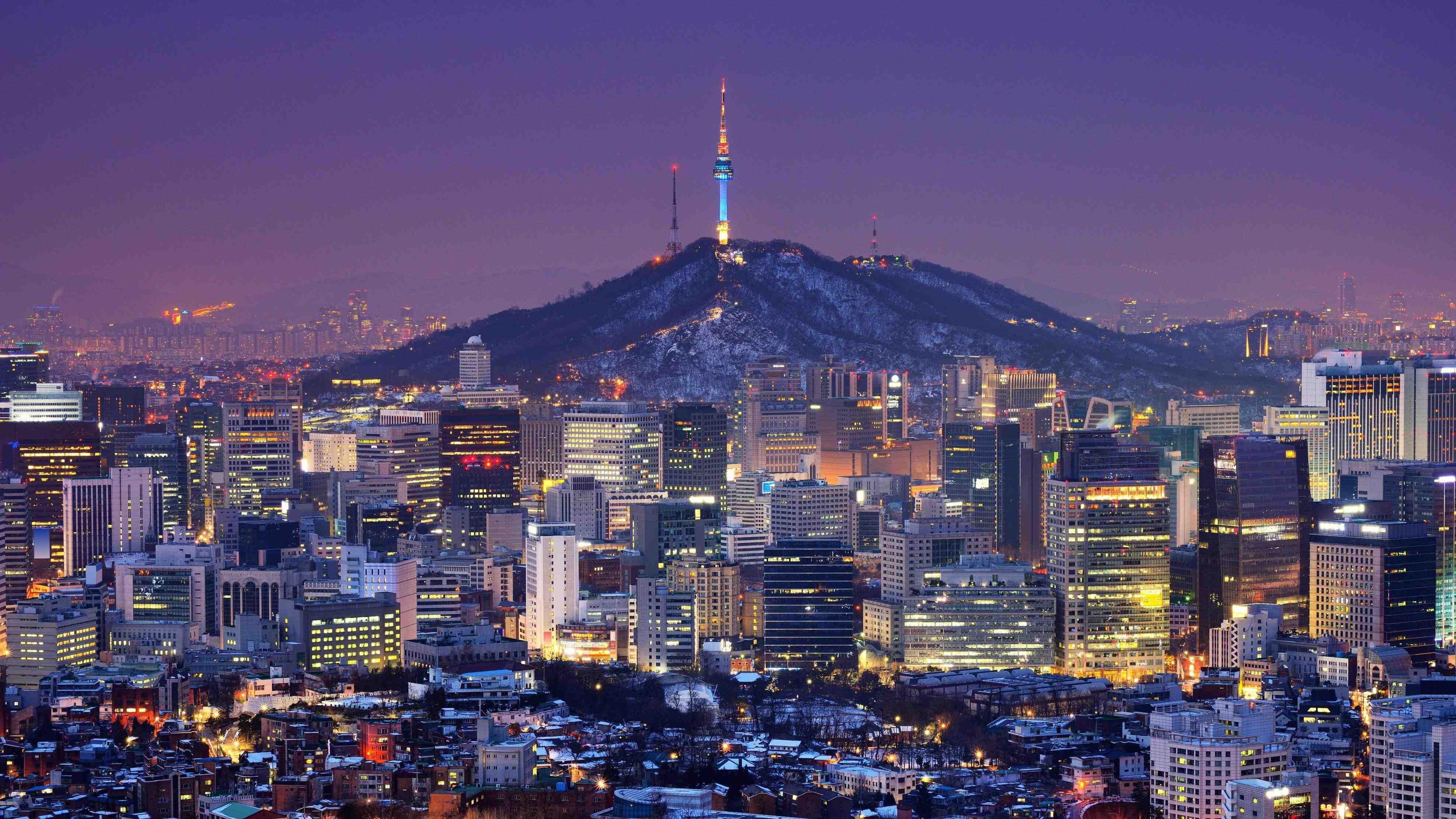 Wallpaper Kota Seoul Orion Gambar